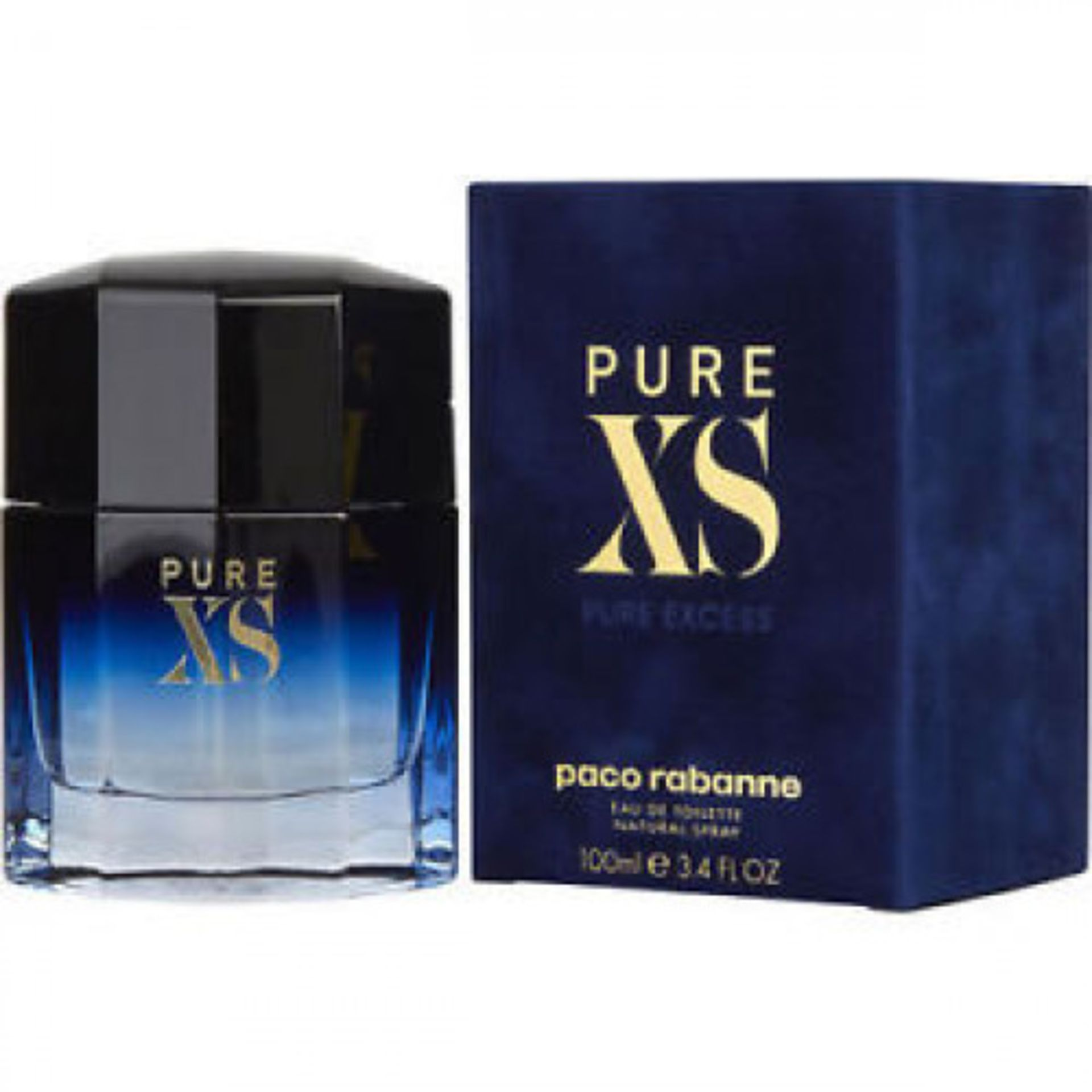+ VAT Brand New Paco Rabanne Pure XS (M) 100ml EDT Spray