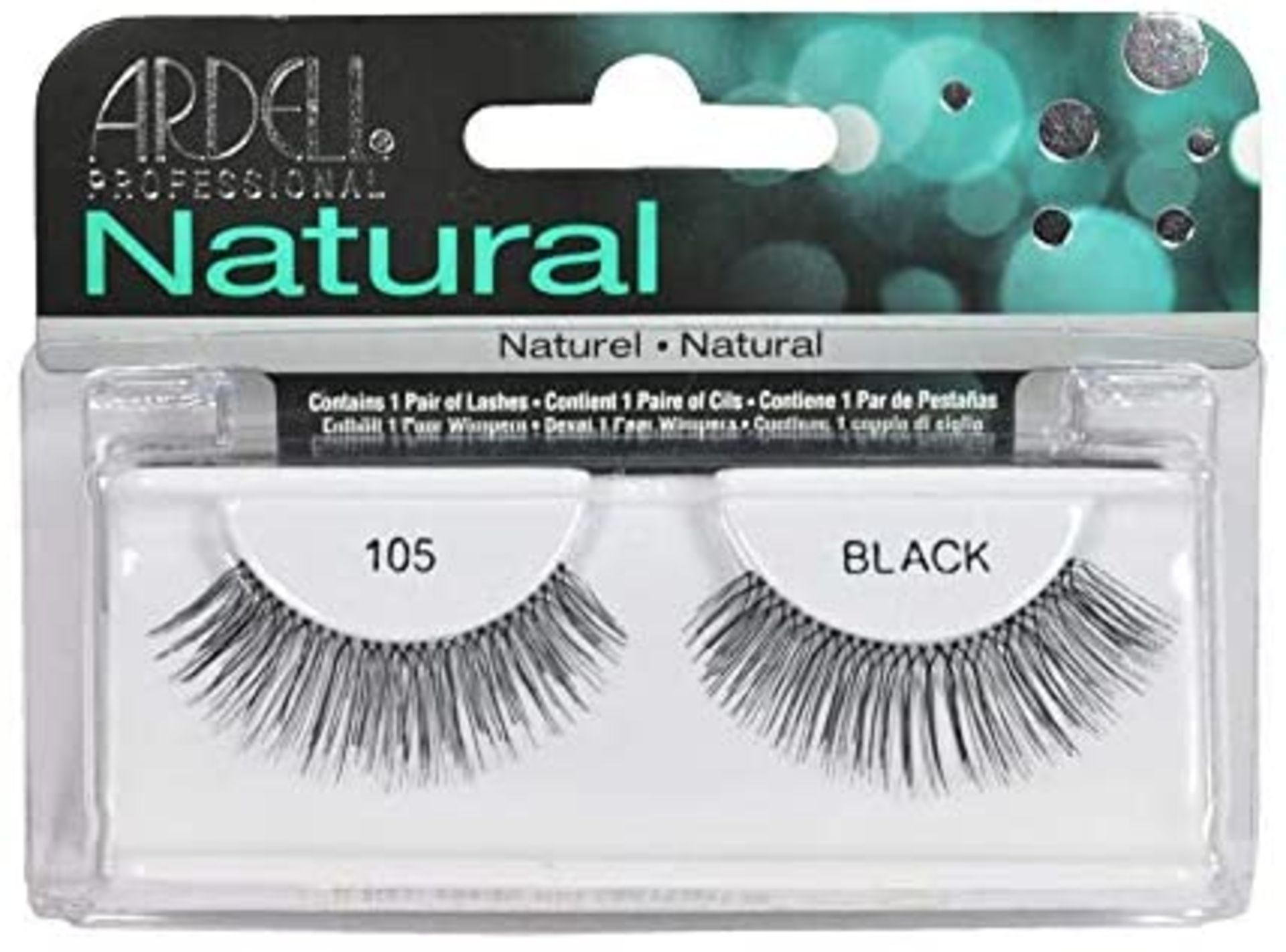 + VAT Brand New Ardell Natural 105 Black