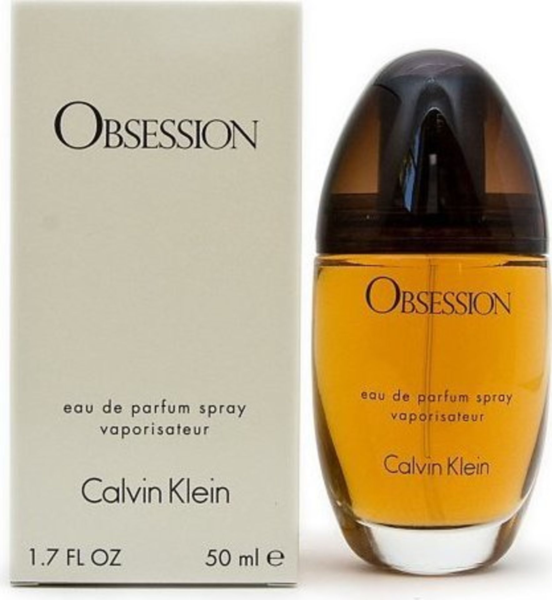 + VAT Brand New Calvin Klein Obsession (L) 50ml EDP Spray