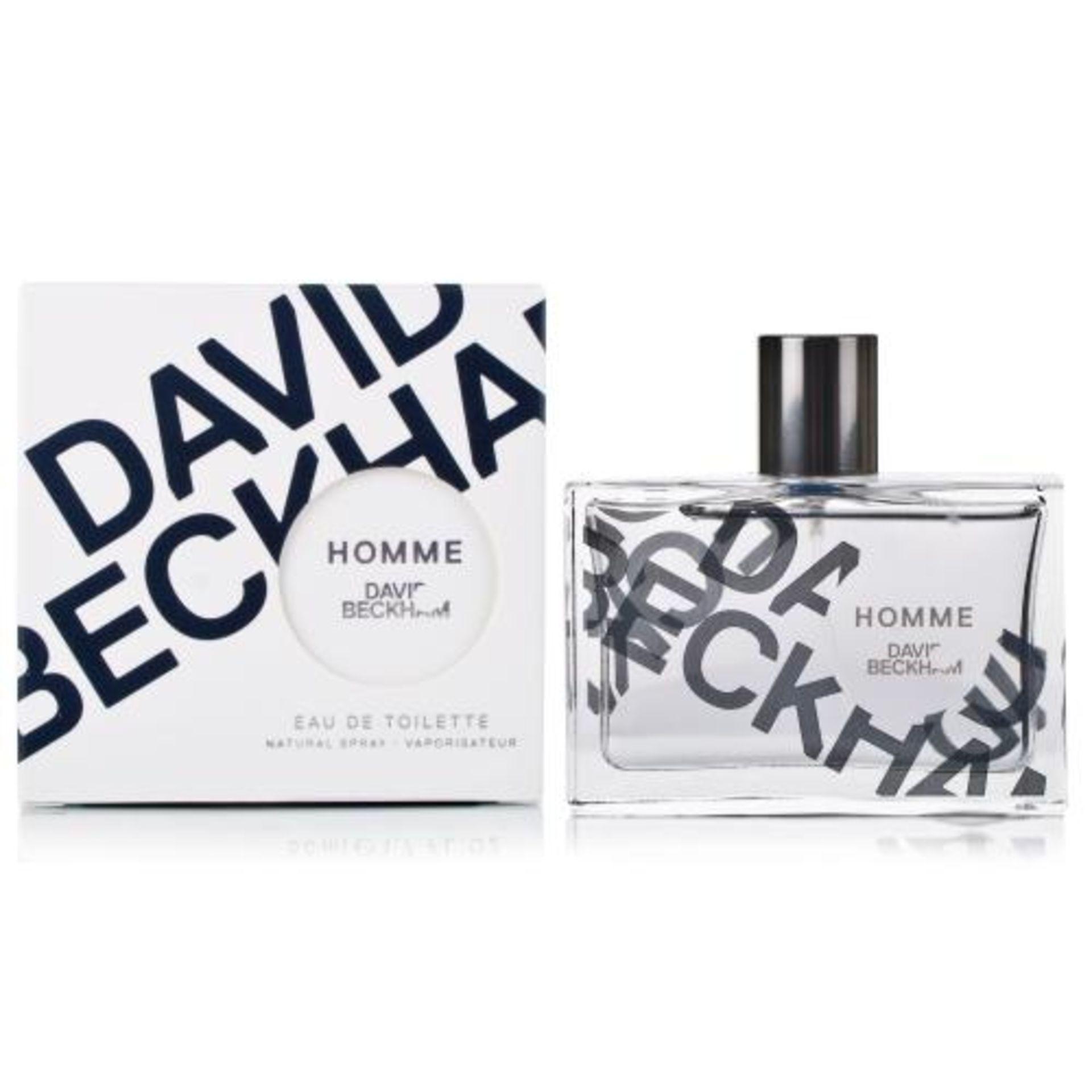+ VAT Brand New Homme By David Beckham Eau De Toilette Spray 75ml Boots Price £34.00