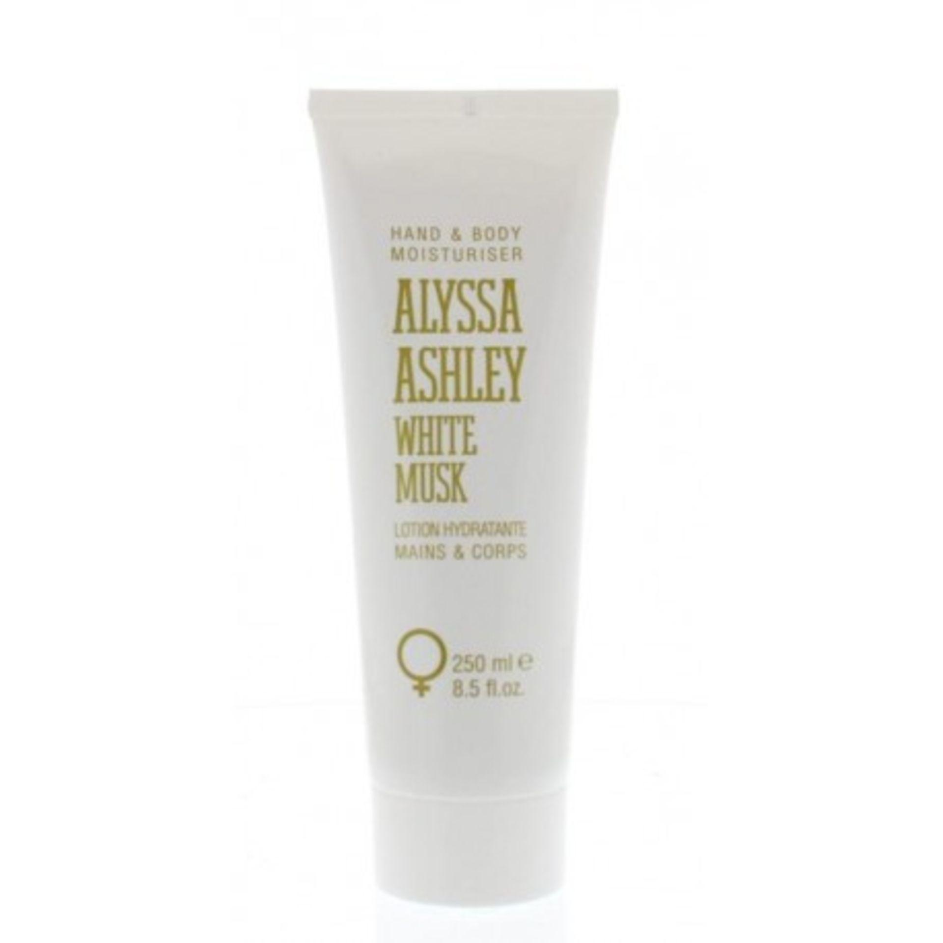 + VAT Brand New Alyssa Ashley White Musk 250ml Hand & Body Lotion