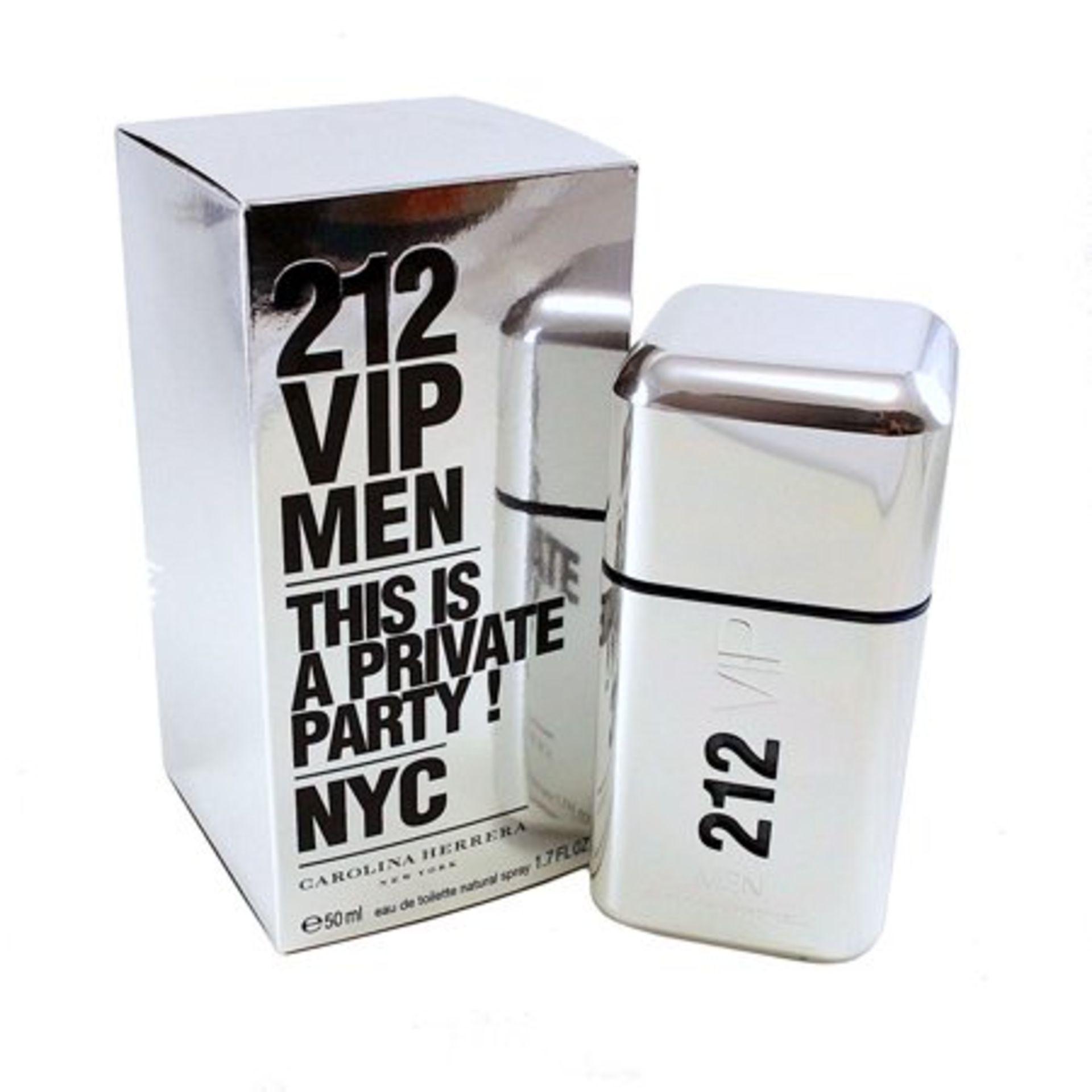 + VAT Brand New Carolina Herrera 212 Vip(M) 50ml EDT Spray
