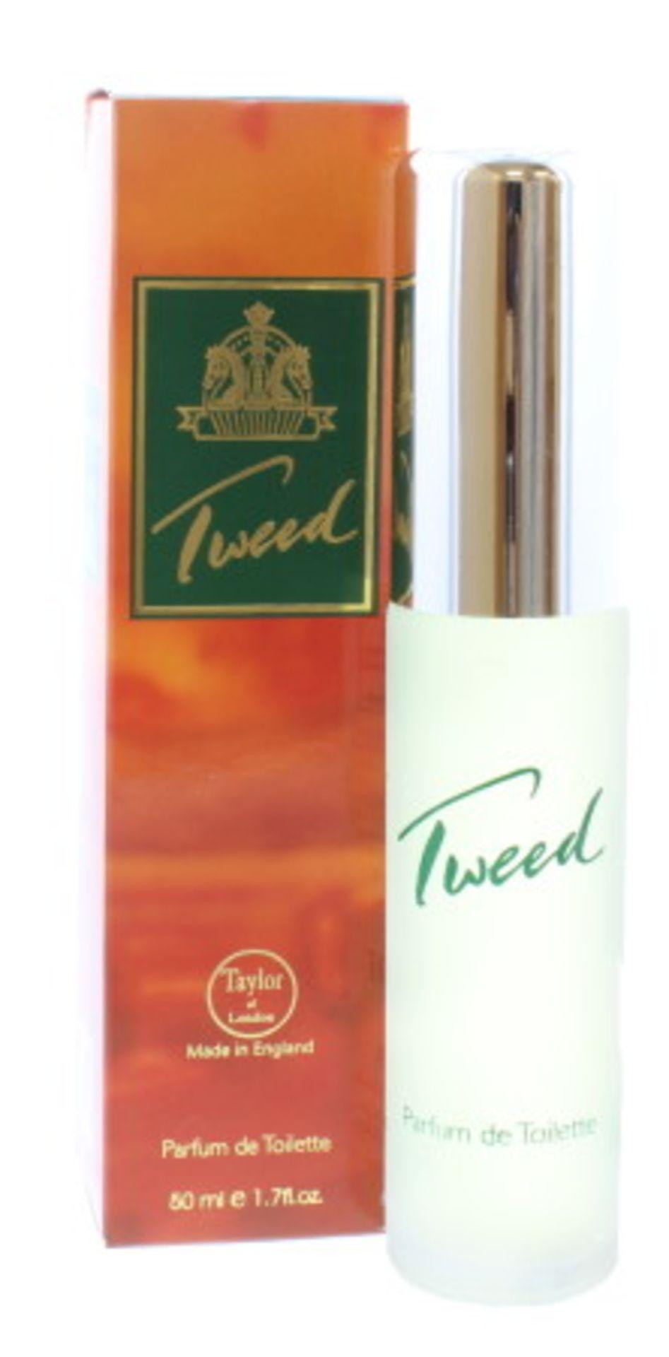 + VAT Brand New Taylor of London Tweed 50ml PDT Spray