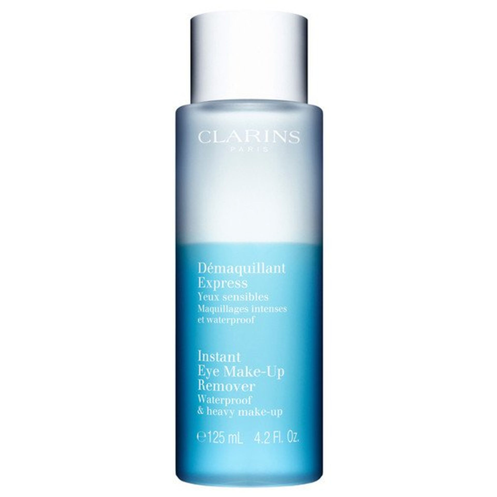 + VAT Brand New Clarins Inst Eye Make-Up Remover 125ml