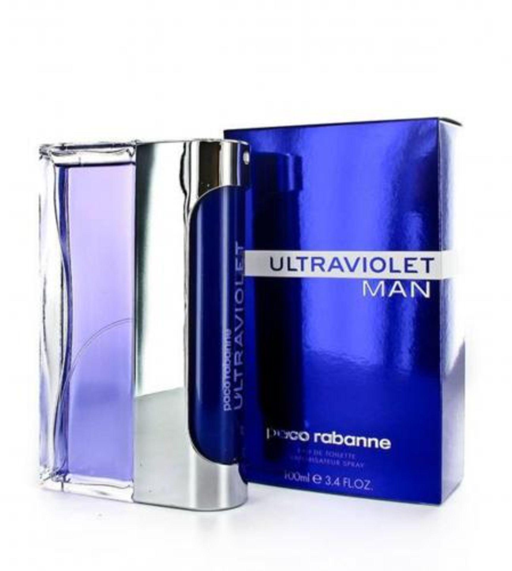 + VAT Brand New Paco Rabanne UltraViolet (M) 100ml EDT Spray
