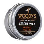 + VAT Brand New Woody's For Men 14g Stache Wax