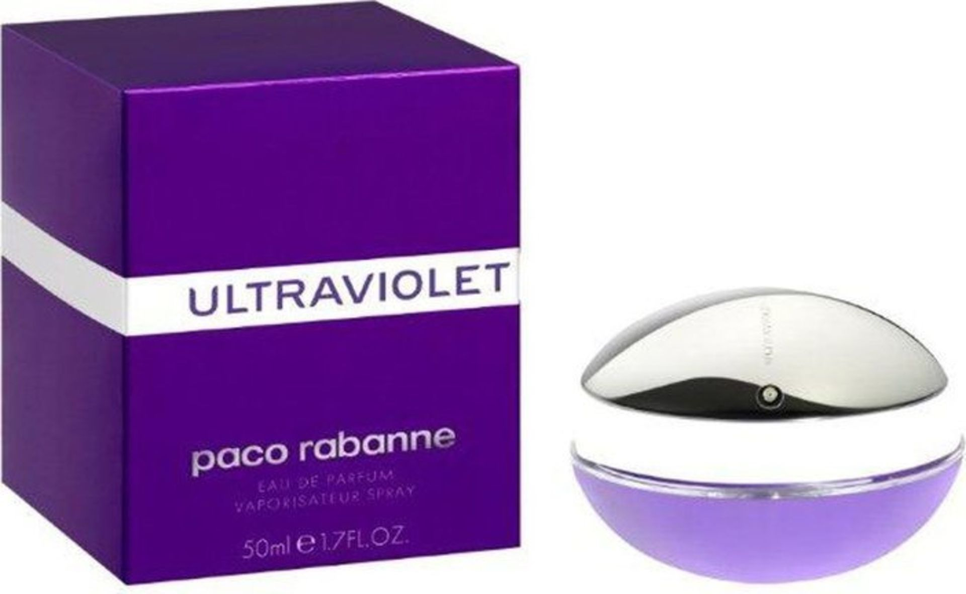 + VAT Brand New Paco Rabanne UltraViolet (L) 50ml EDP Spray