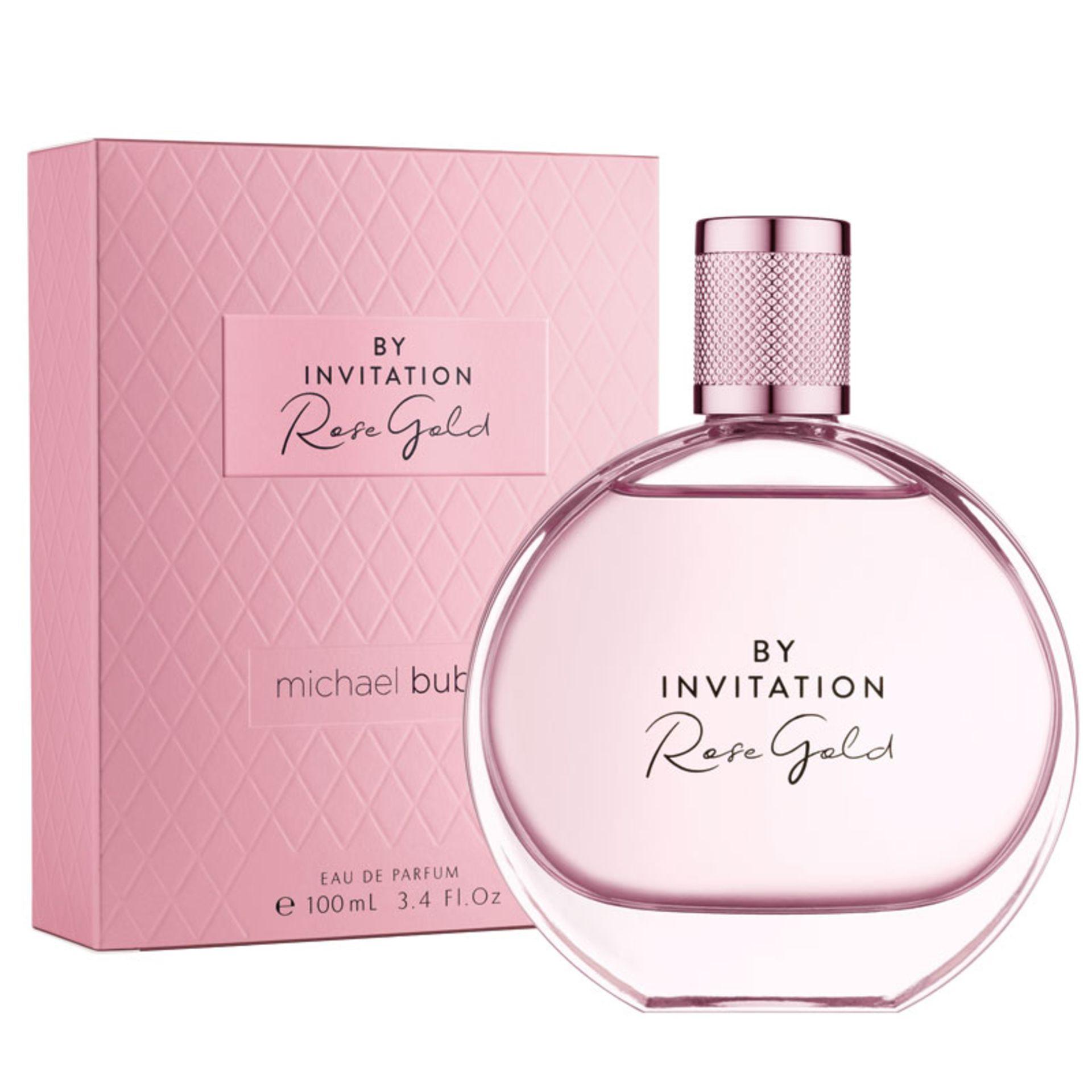 + VAT Brand New Michael Buble By Invitation Rose Gold 100ml EDP