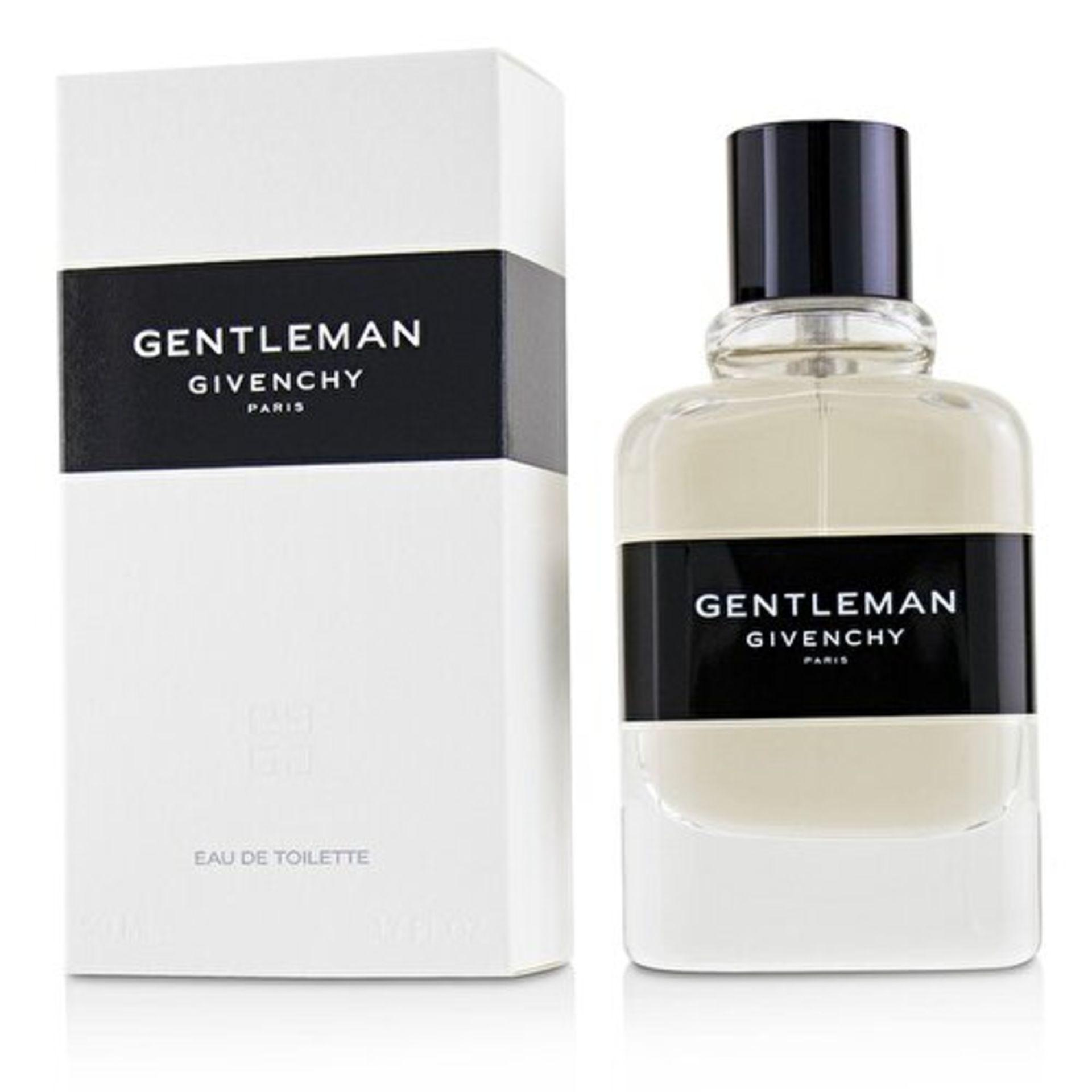 + VAT Brand New Givenchy Gentleman 50ml EDT Spray (New Pac)