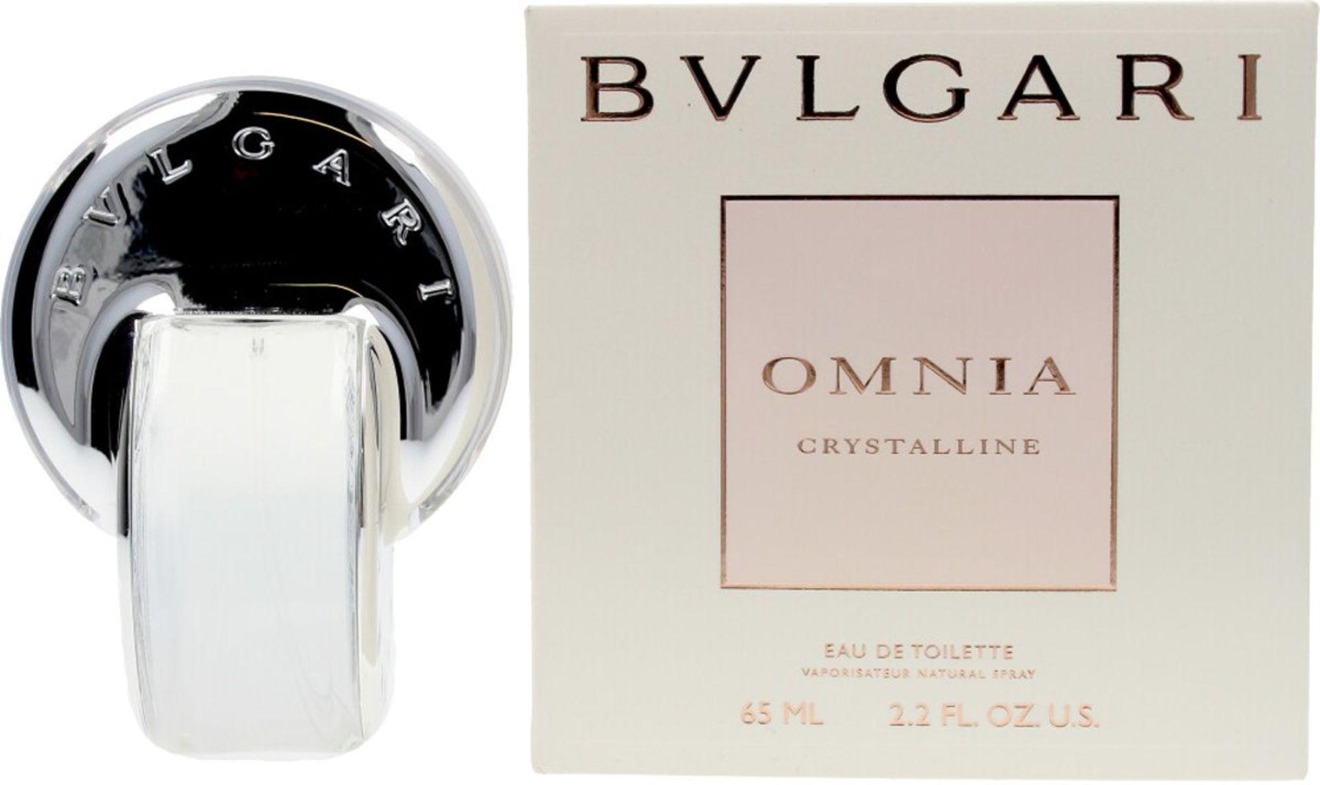 + VAT Brand New BVLGARI Omnia Crystalline 65ml EDT Spray