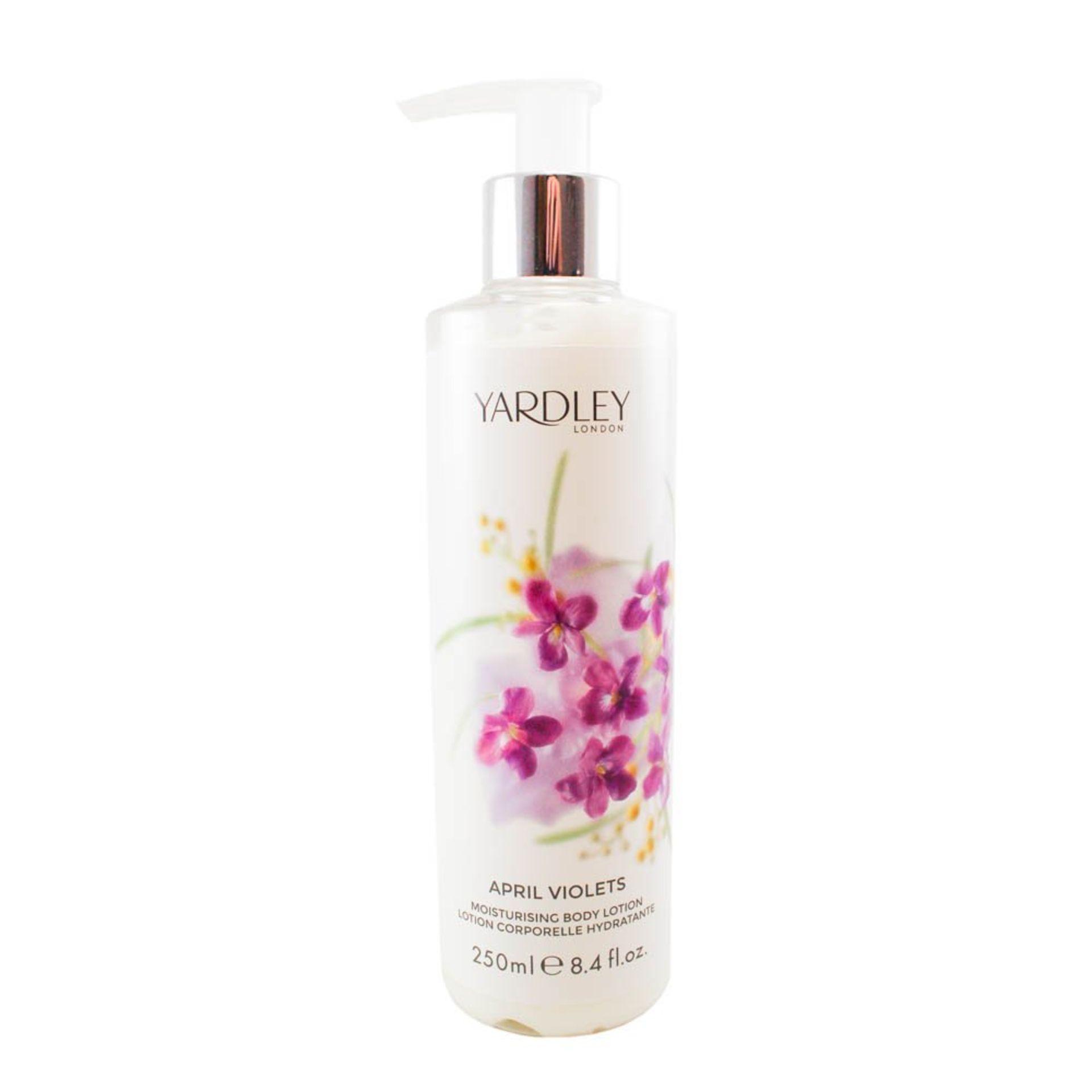 + VAT Brand New Yardley April Violets 250ml Body Lotion