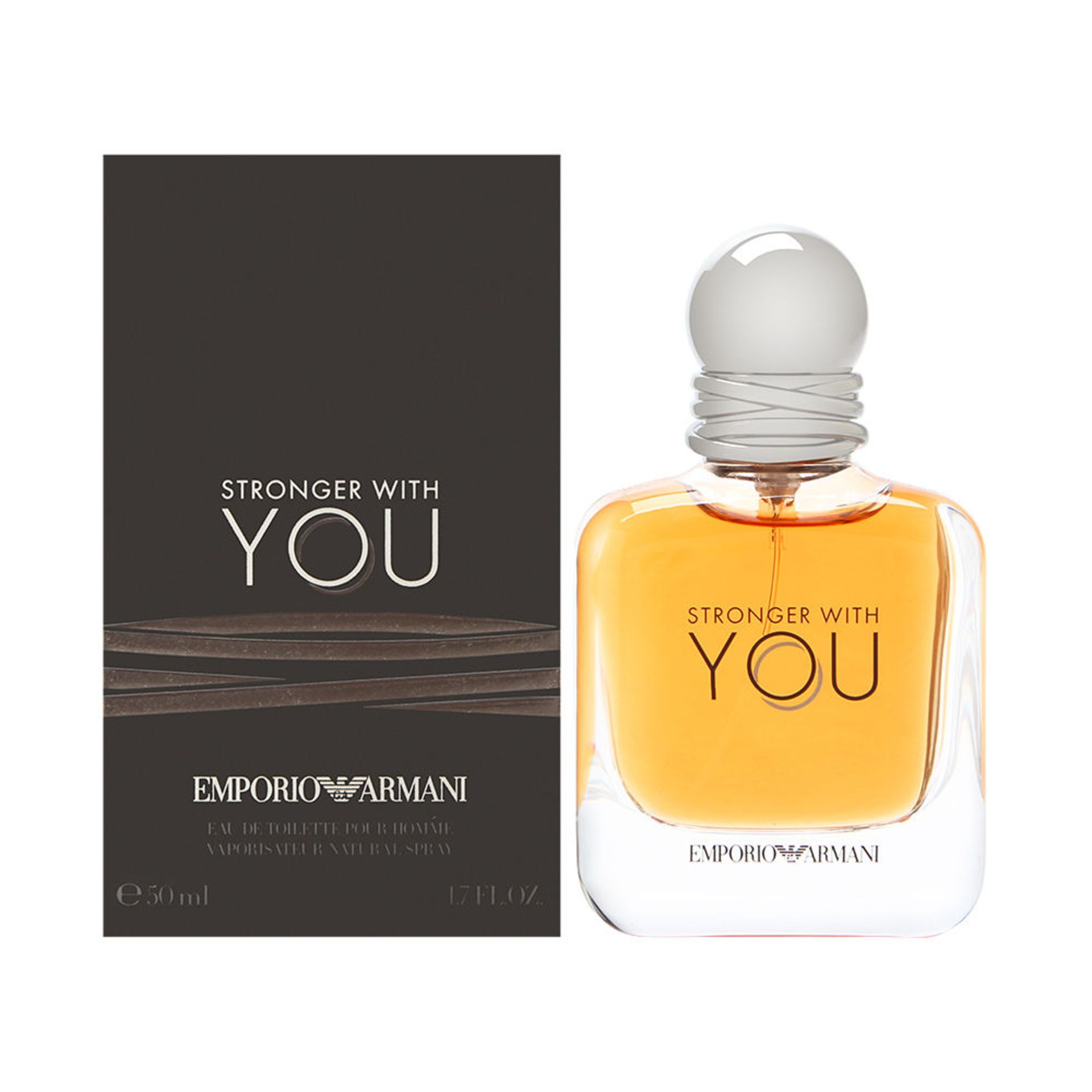 + VAT Brand New Emporio Armani Stronger With You 50ml EDT Spray
