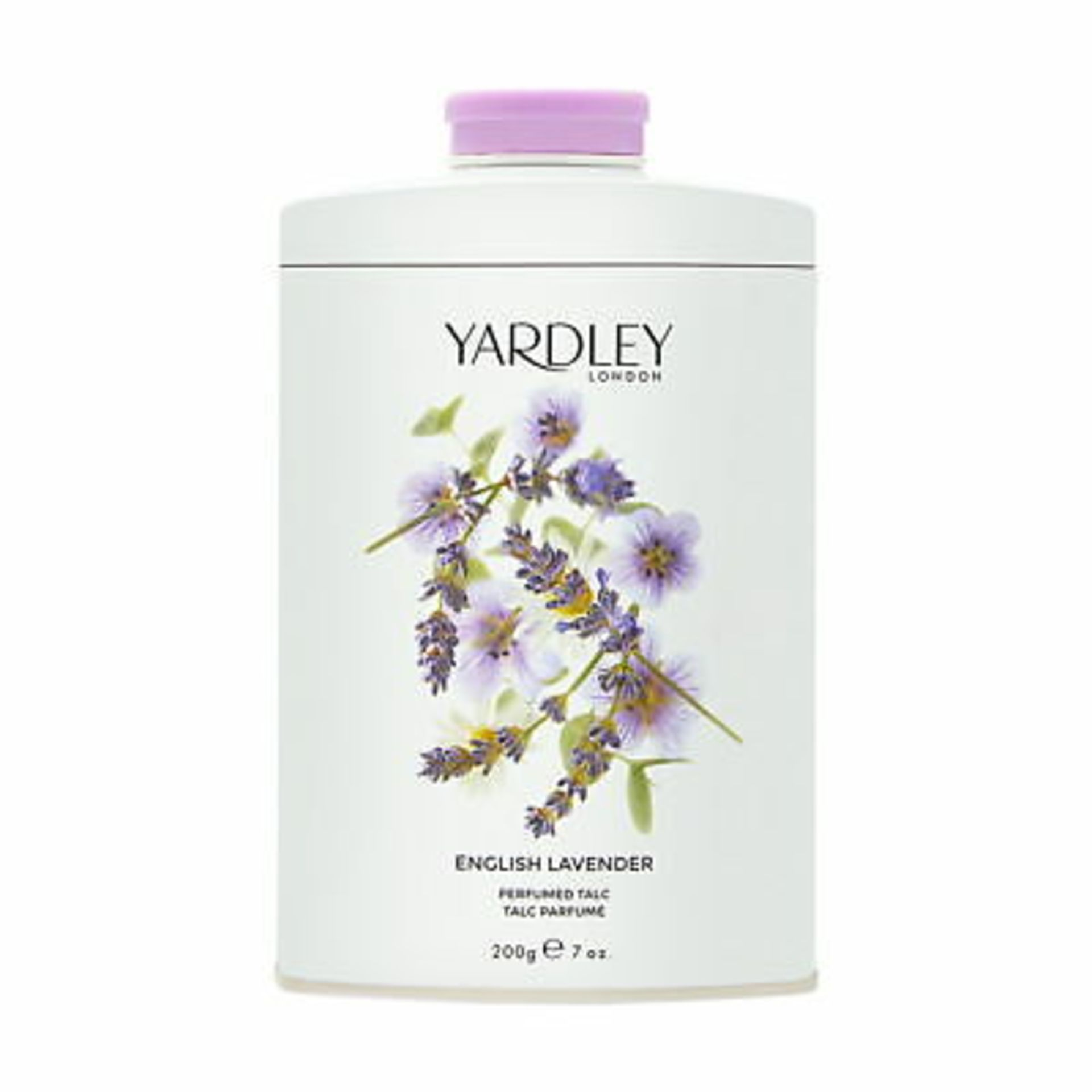 + VAT Brand New Yardley April Violets 200G Talc