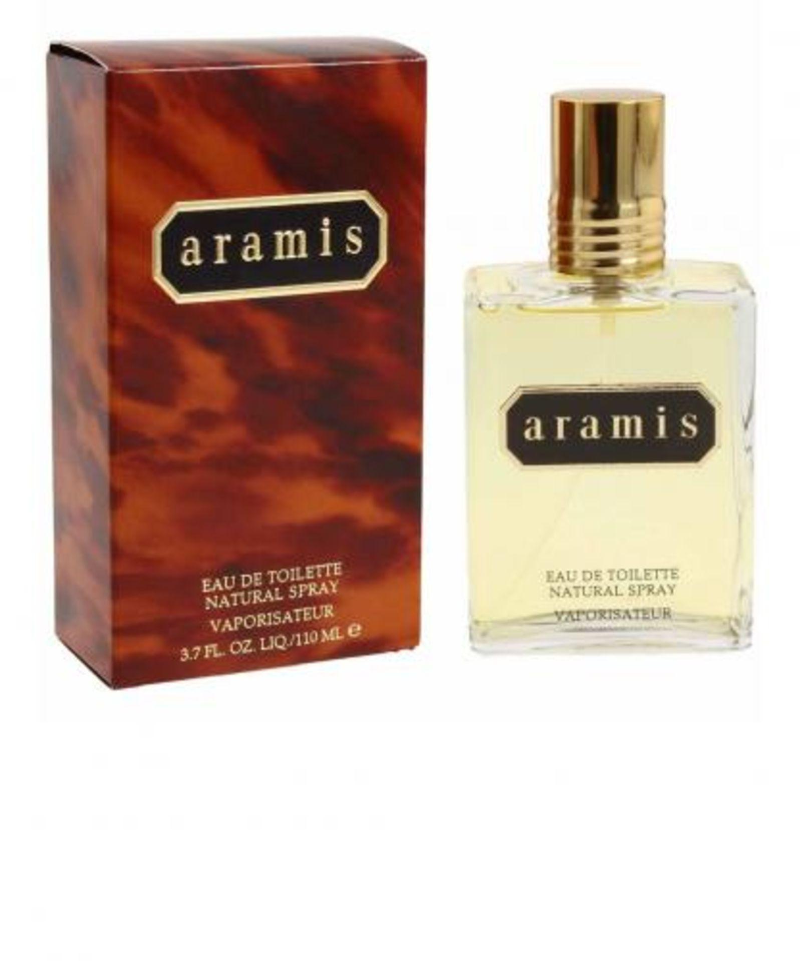 + VAT Brand New 110ml Aramis Eau De Toilette Natural Spray