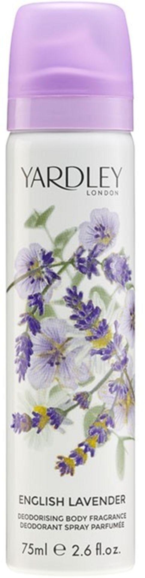 + VAT Brand New Yardley English Lavender 75ml Body Spray