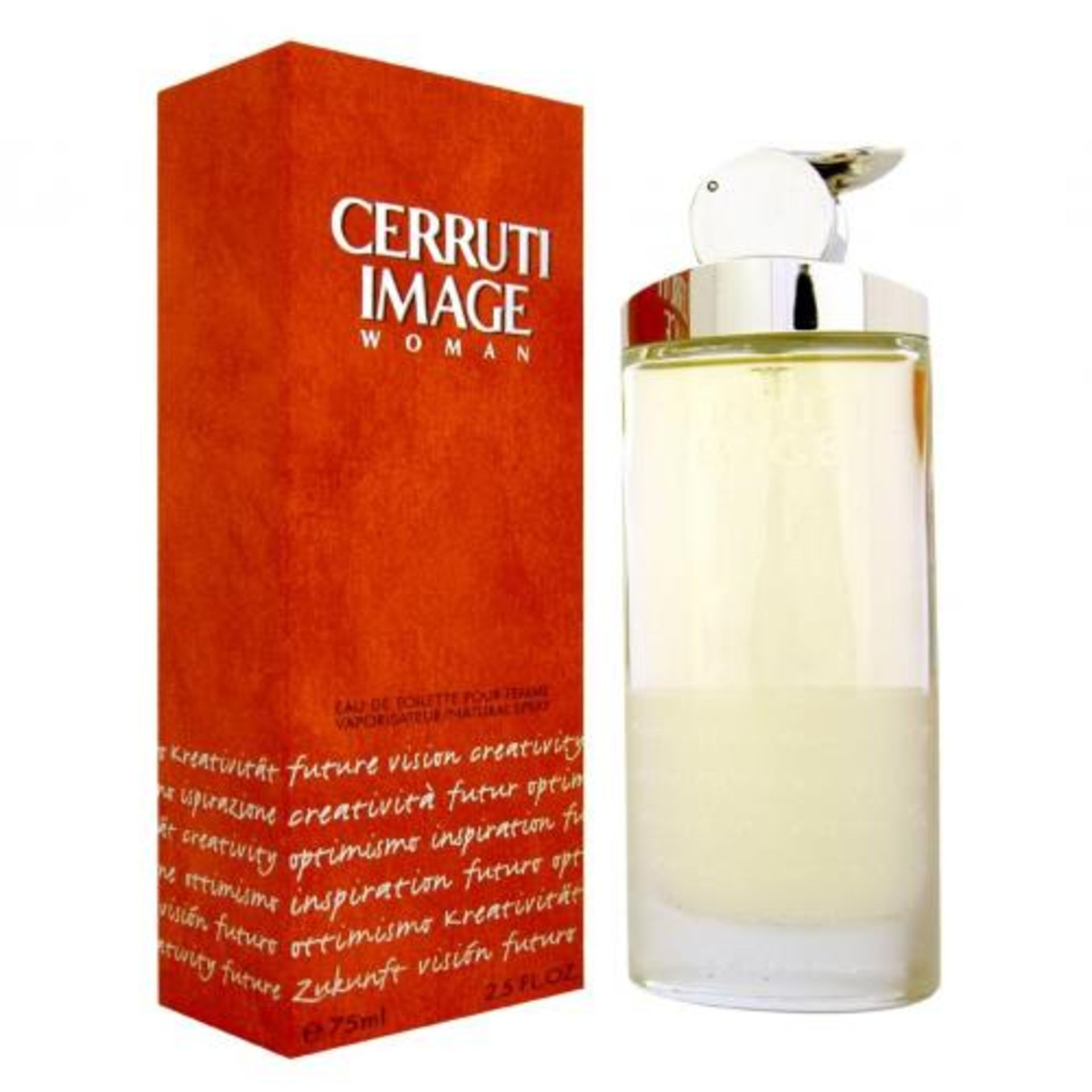 + VAT Brand New Cerruti Image Woman 75ml EDT Spray