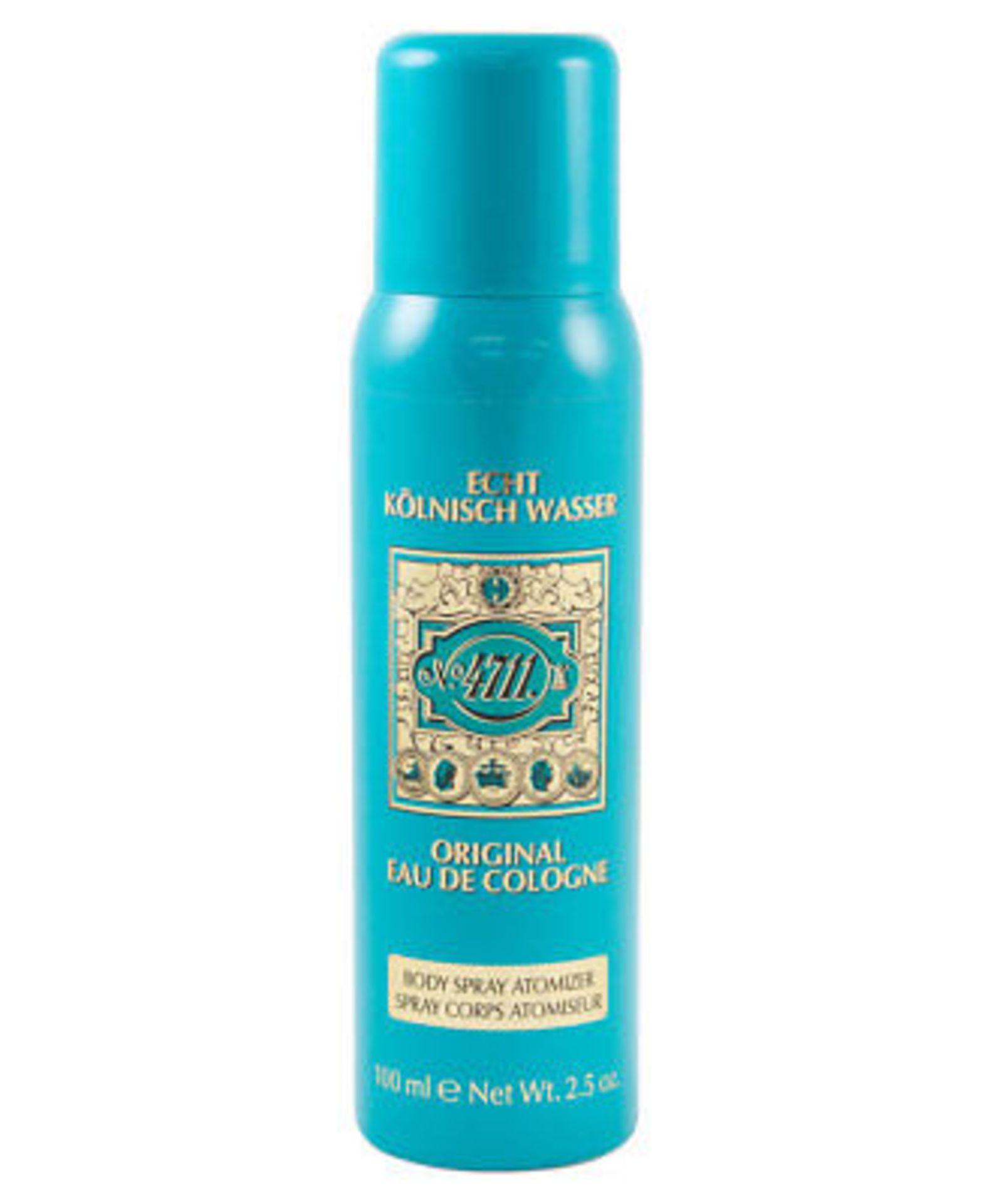 + VAT Brand New 4711 100ml Body Spray