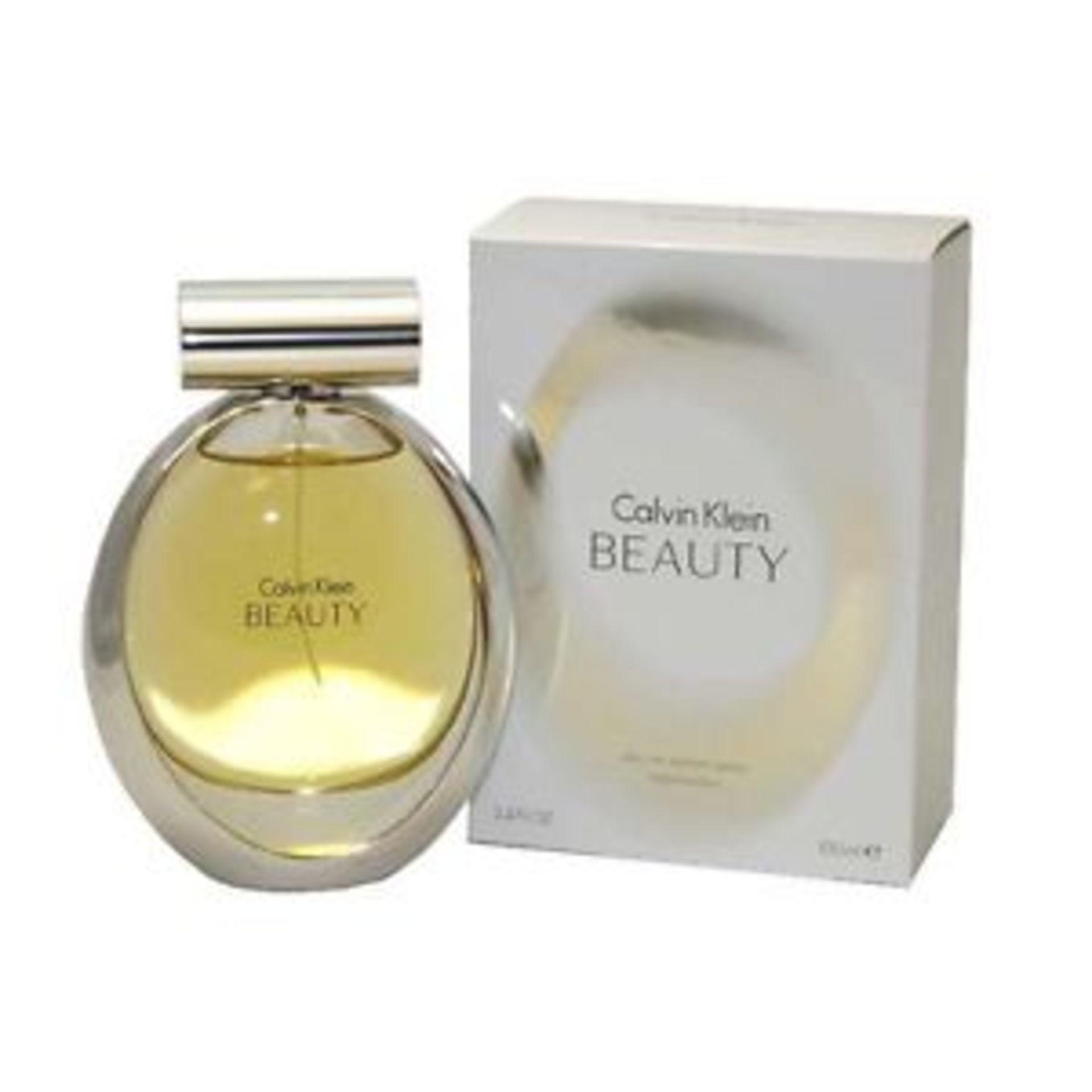 + VAT Brand New 100ml Ladies Calvin Klein Beauty Eau De Parfum Spray