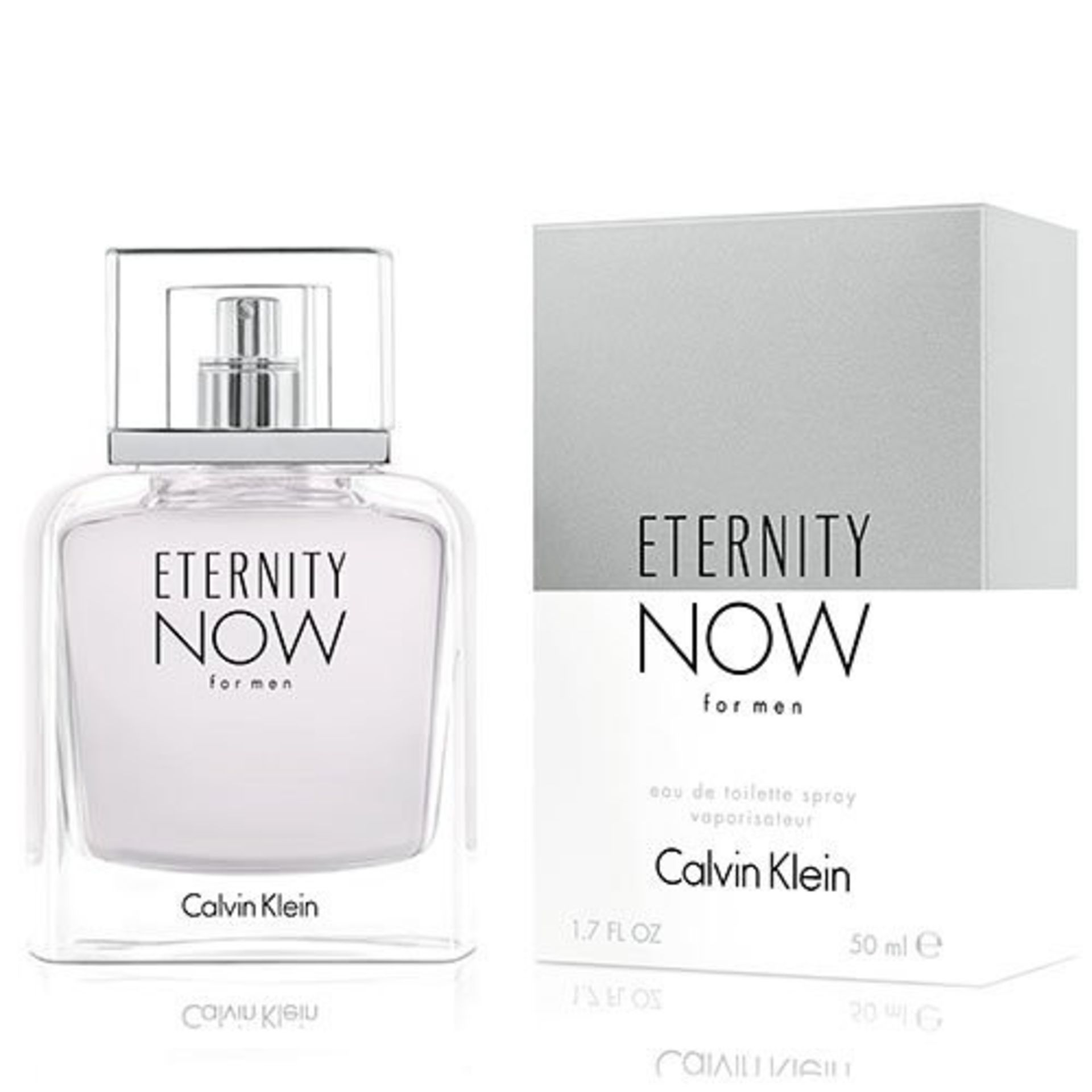 + VAT Brand New Calvin Klein Eternity Now (M) 50ml EDT Spray