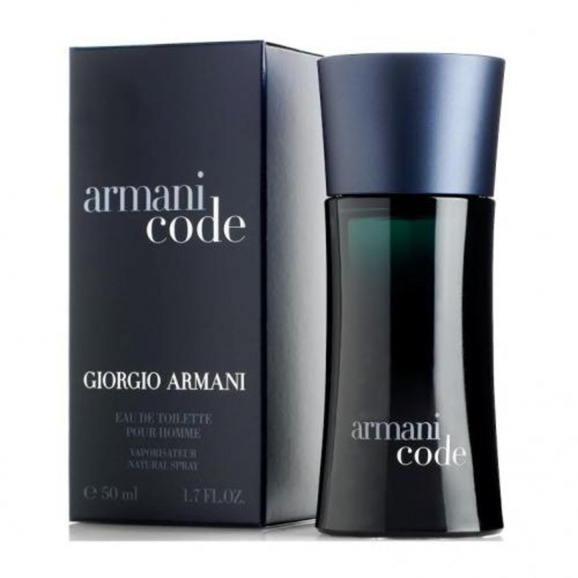 + VAT Brand New Giorgio Armani Code (M) 50ml EDT Spray