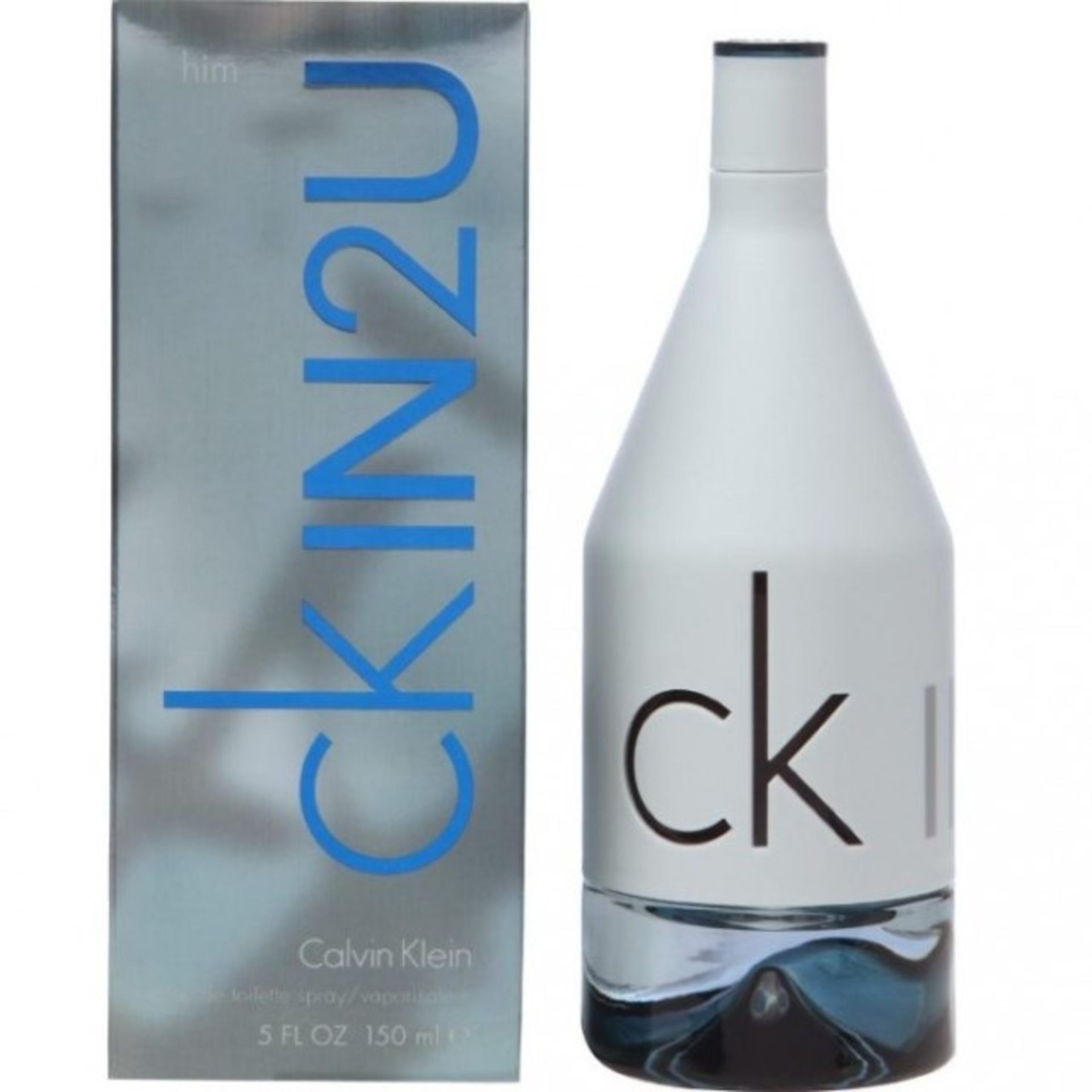 + VAT Brand New Calvin Klein CKIN2U Him Vapouriser Spray 150ml - RRP £52.00 - Boots Price £25.00