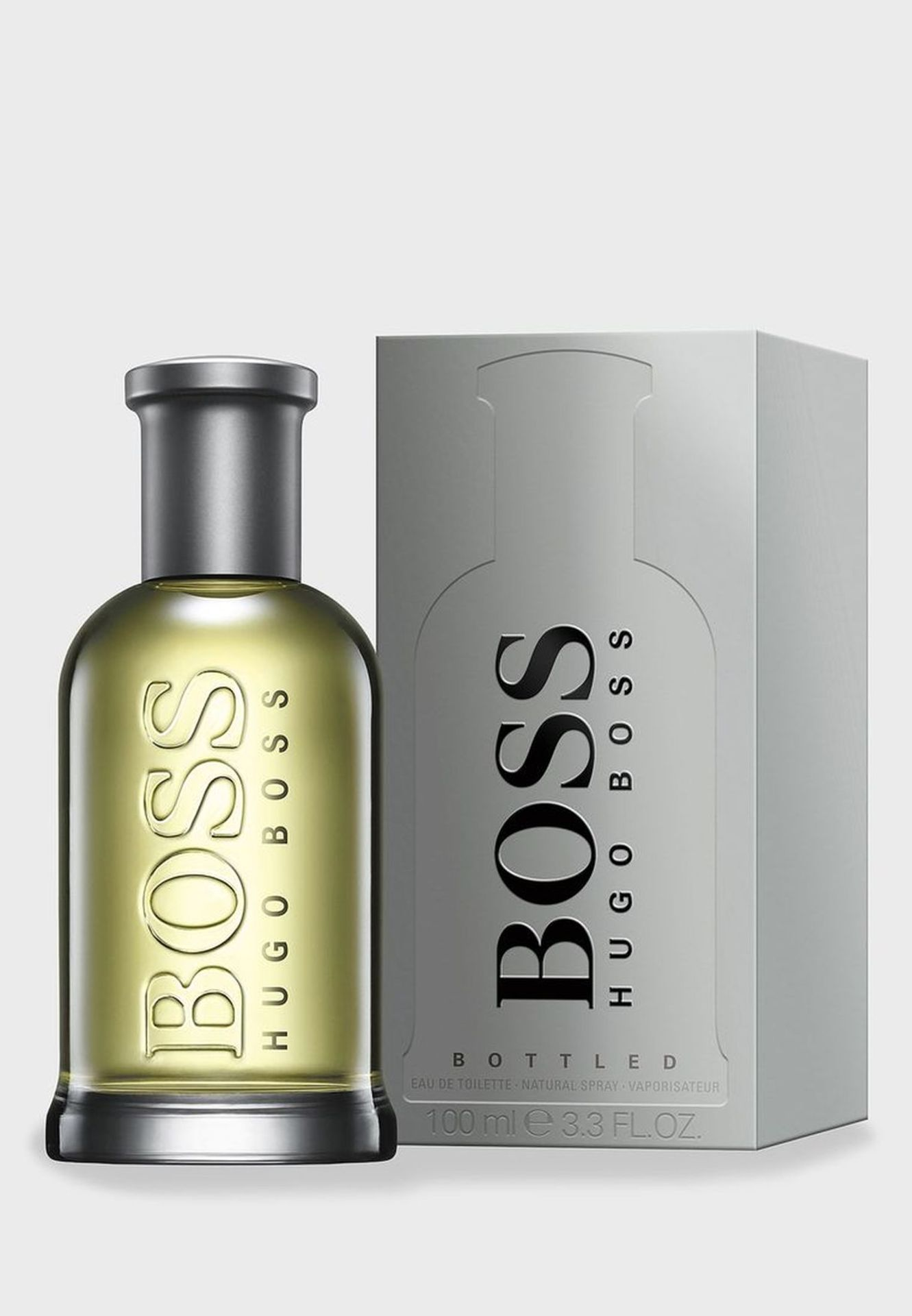 + VAT Brand New Hugo Boss Bottled Grey 100ml EDT Spray