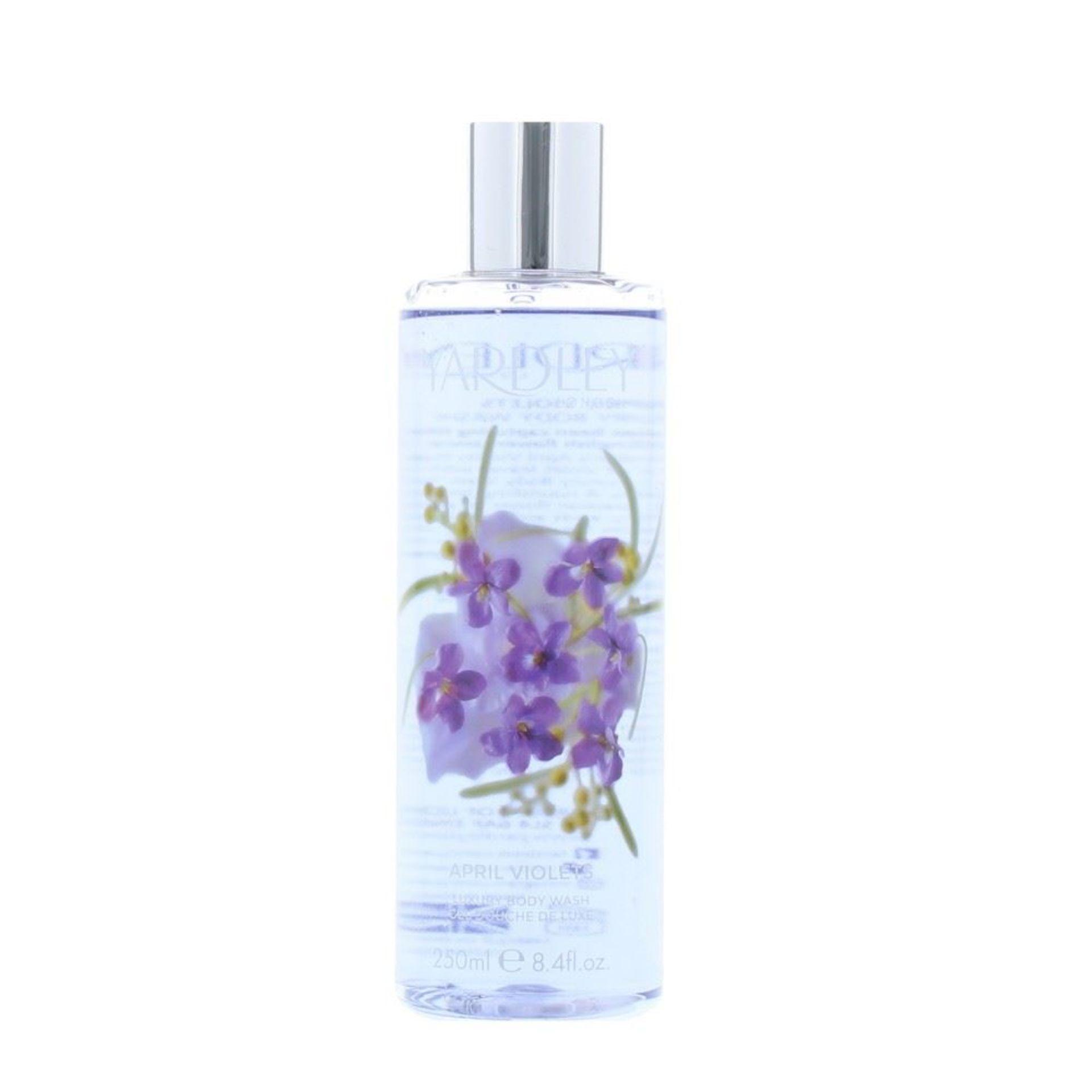 + VAT Brand New Yardley April violets 250ml Body Wash