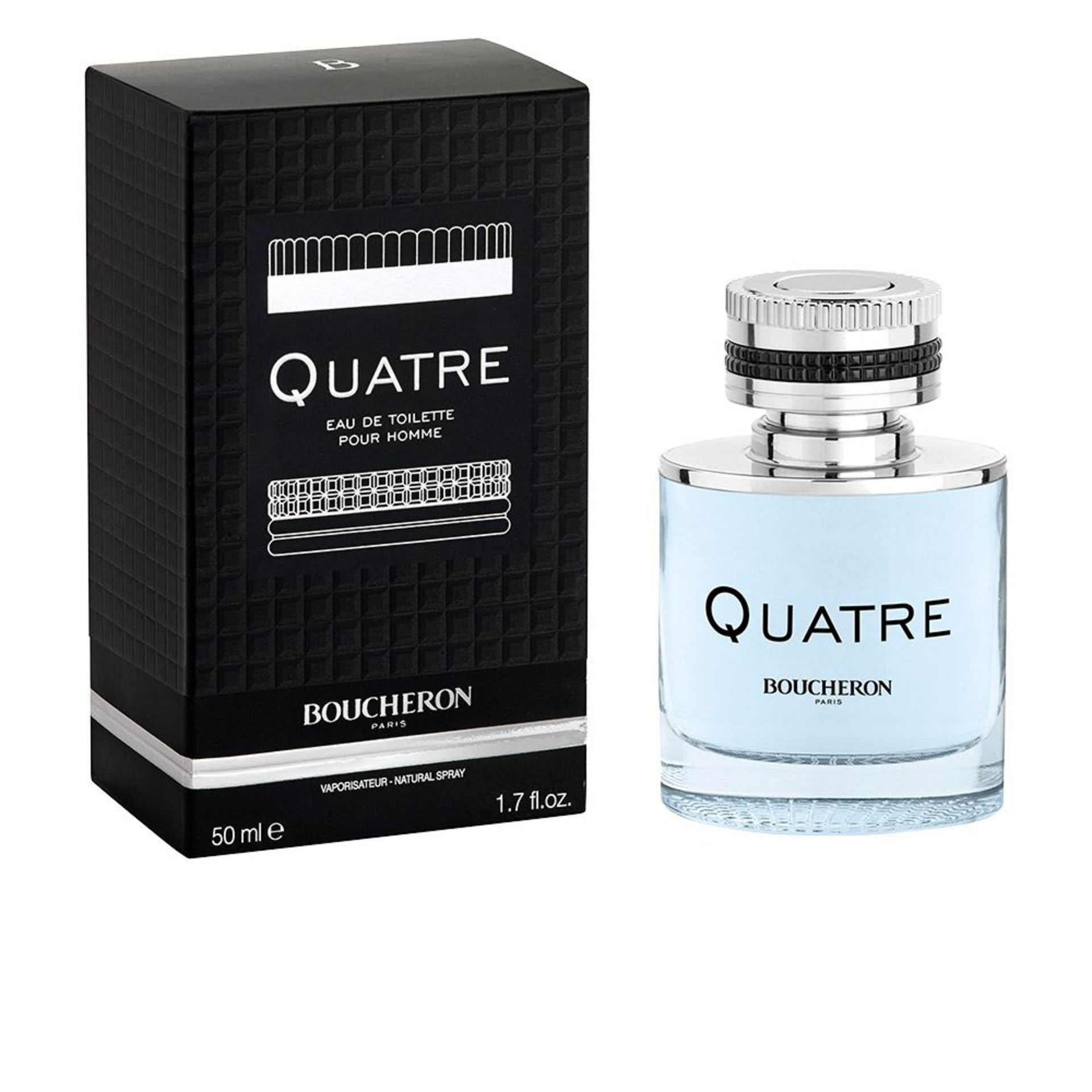 + VAT Brand New Boucheron Quatre (M) 50ml EDT Spray