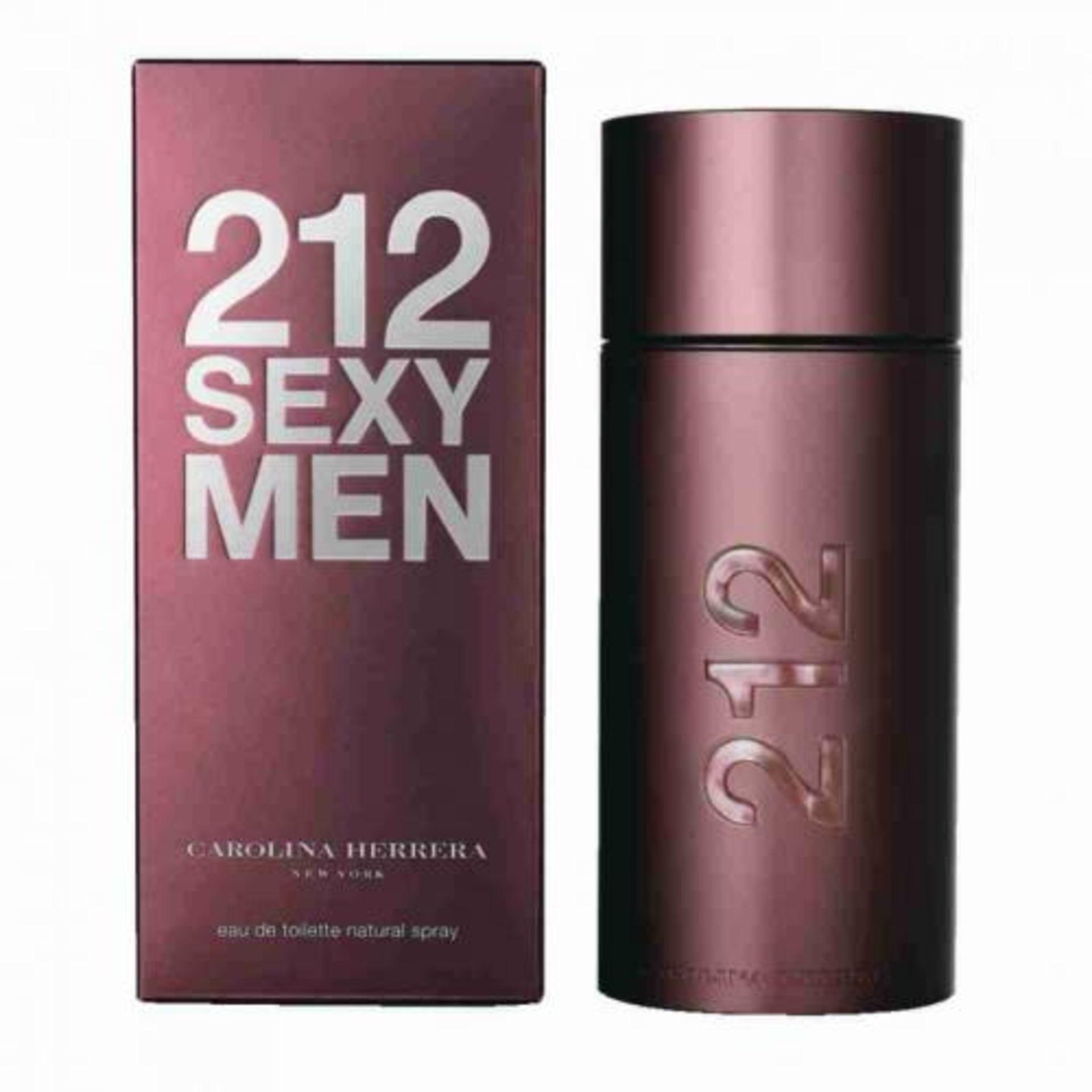 + VAT Brand New Carolina Herrera 212 Sexy Mens 100ml EDT Spray