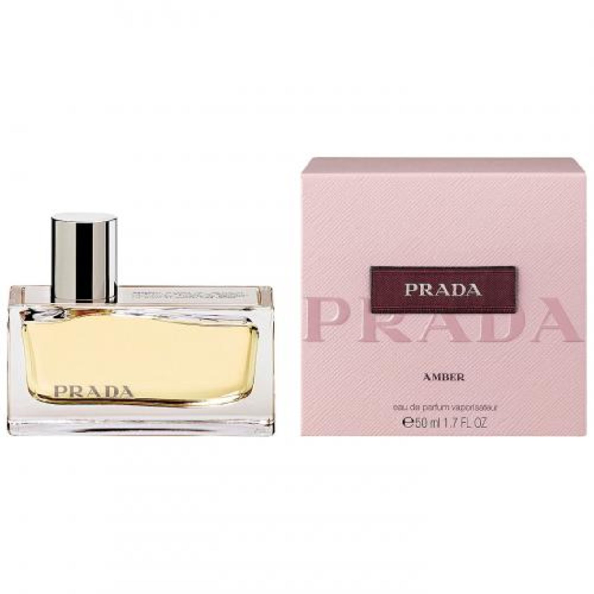 + VAT Brand New Prada Amber 50ml EDP Spray