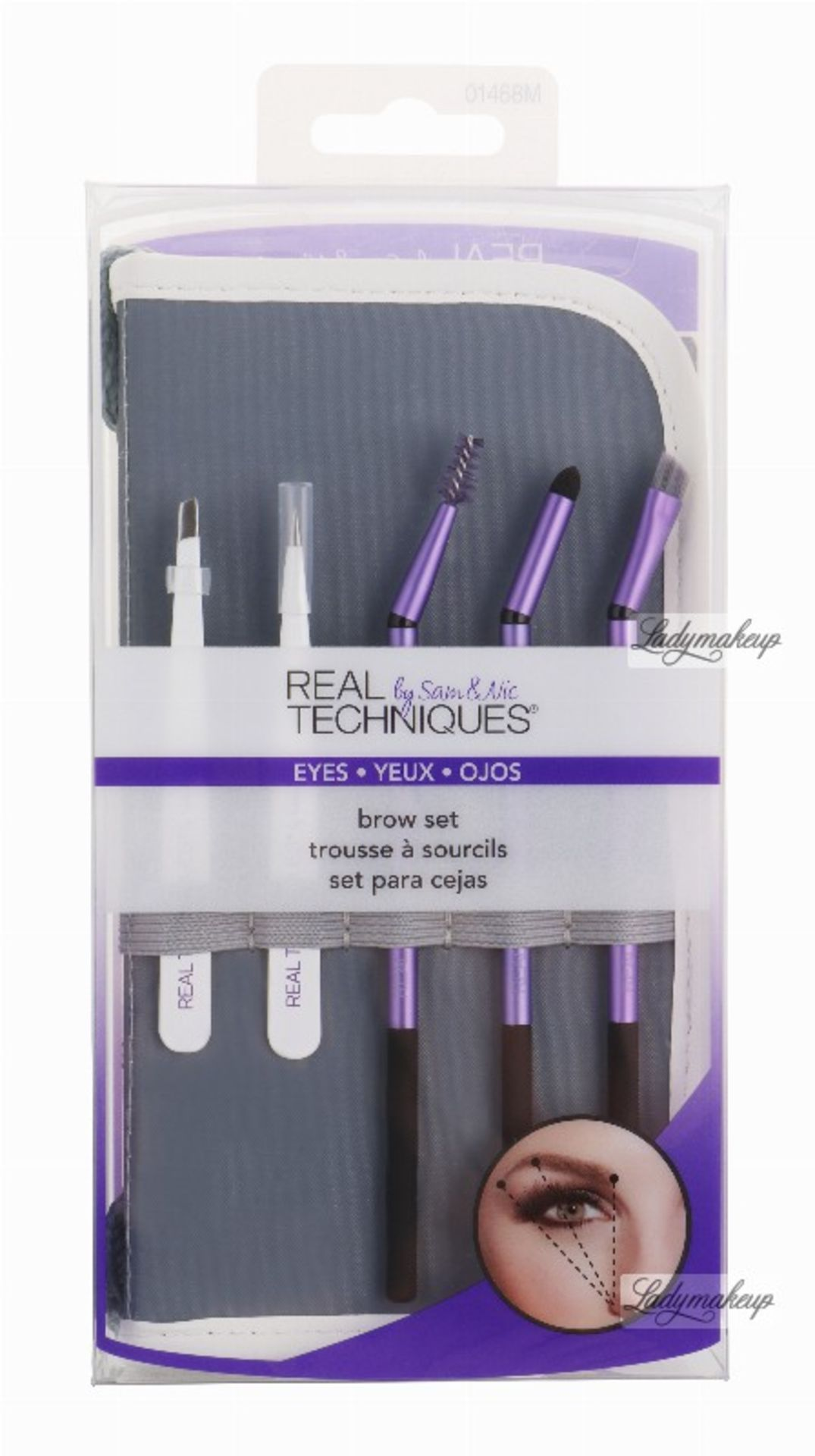 + VAT Brand New Real Techniques Brow Set