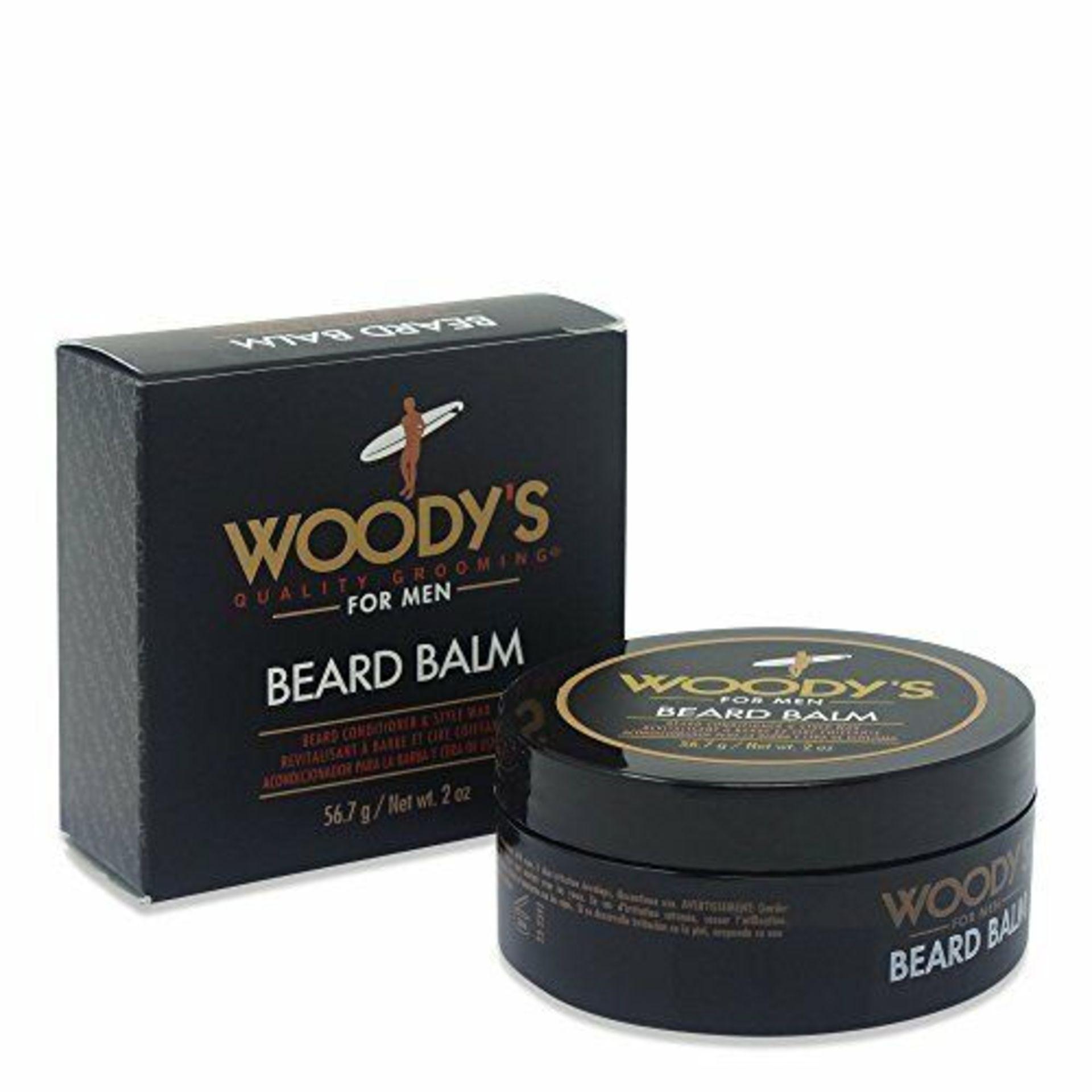 + VAT Brand New Woody's 56.7g Beard Balm