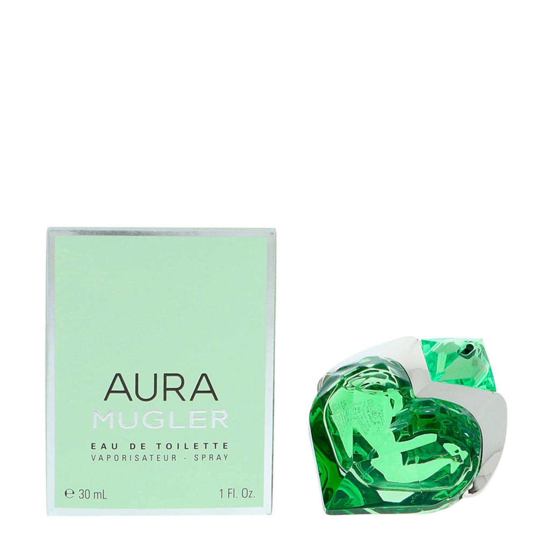 + VAT Brand New Thierry Mugler Aura 30ml EDT Refillable spray