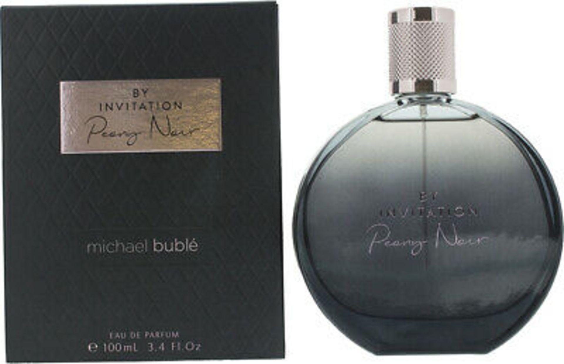 + VAT Brand New Michael Buble By Invitation Peony Noir 100ml EDP