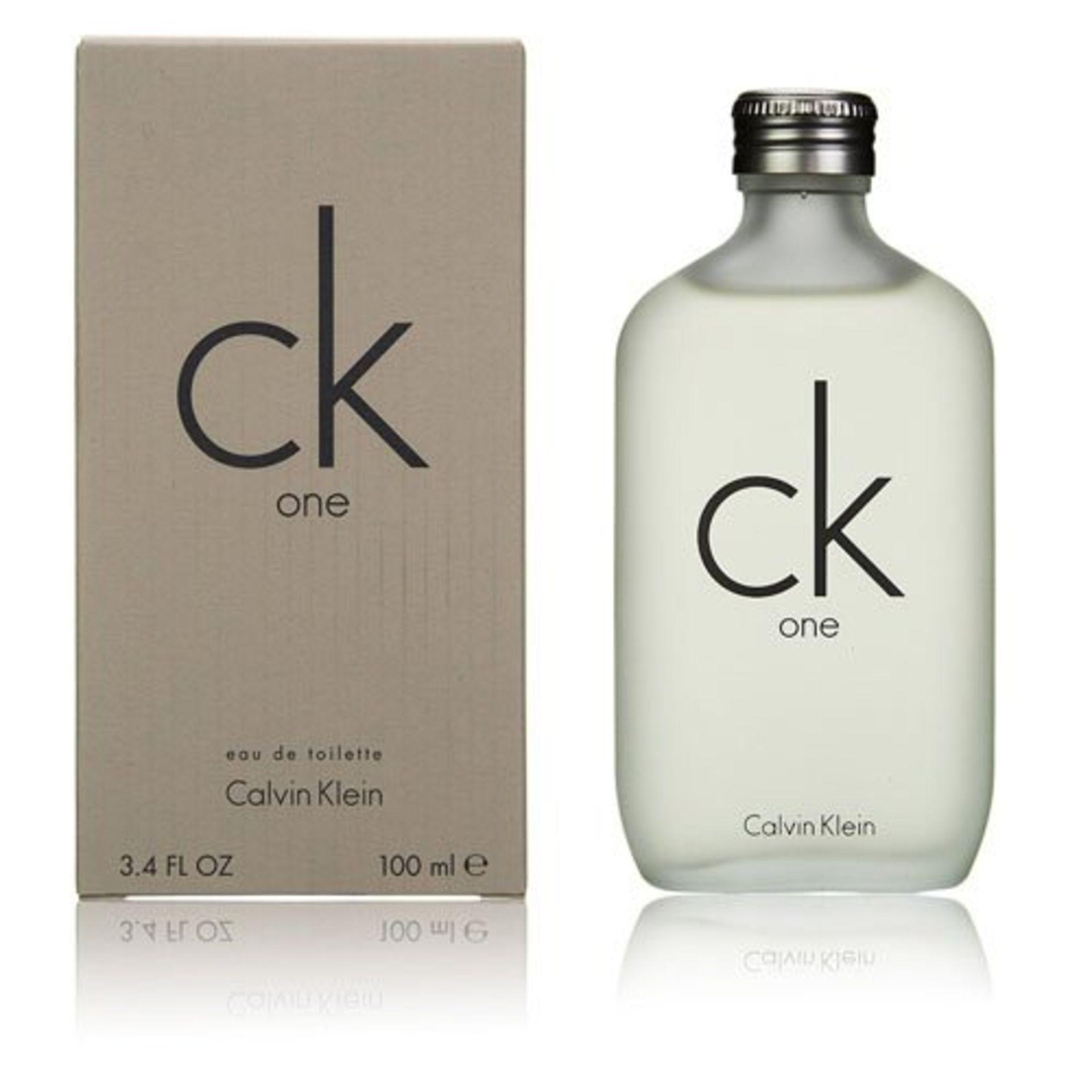 + VAT Brand New Calvin Klein CK One 100ml EDT Spray
