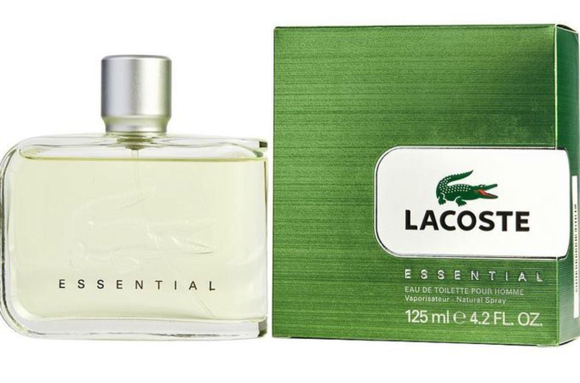 + VAT Brand New Lacoste Essential 125ml EDT Spray