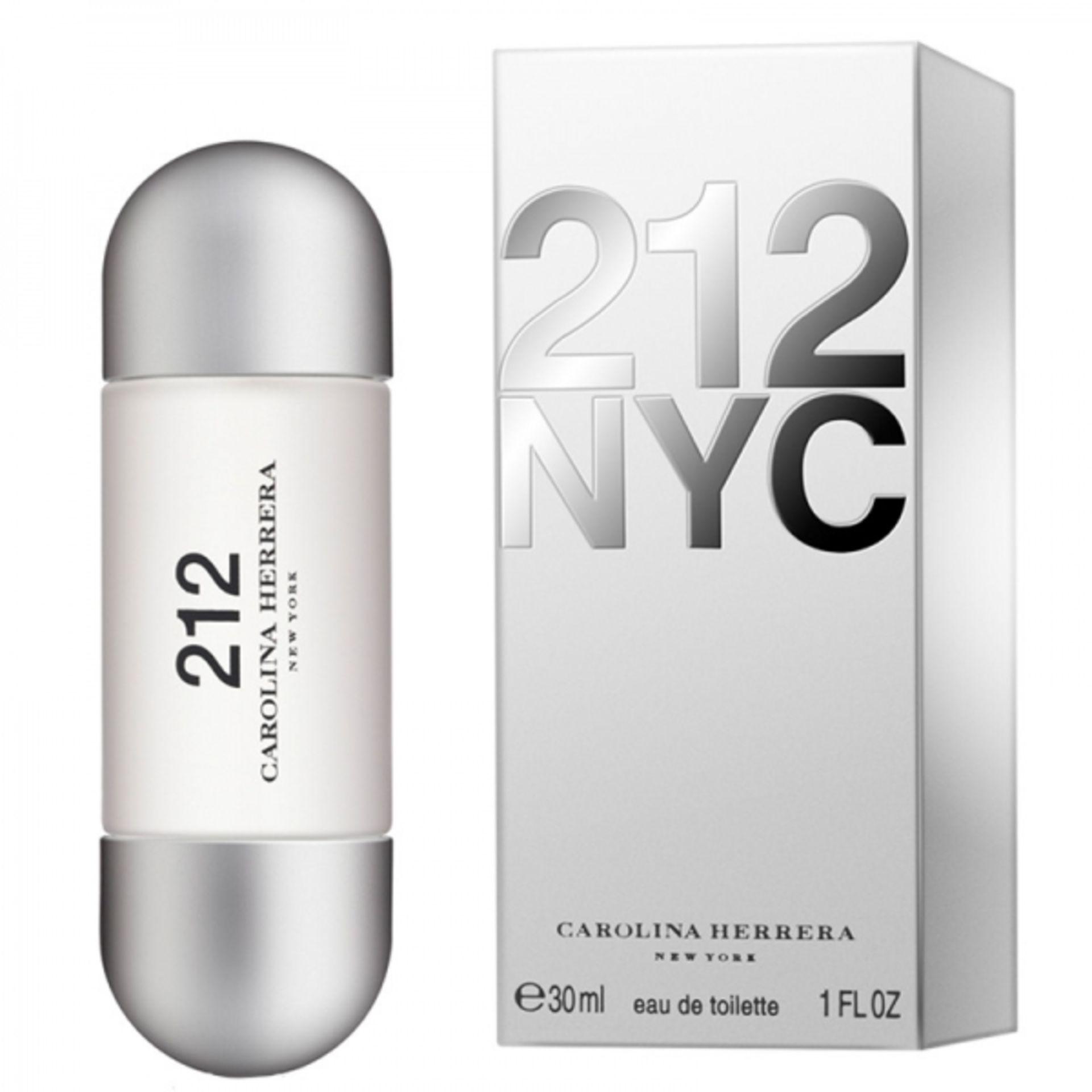 + VAT Brand New Carolina Herrera 212 NYC Eau De Toilette