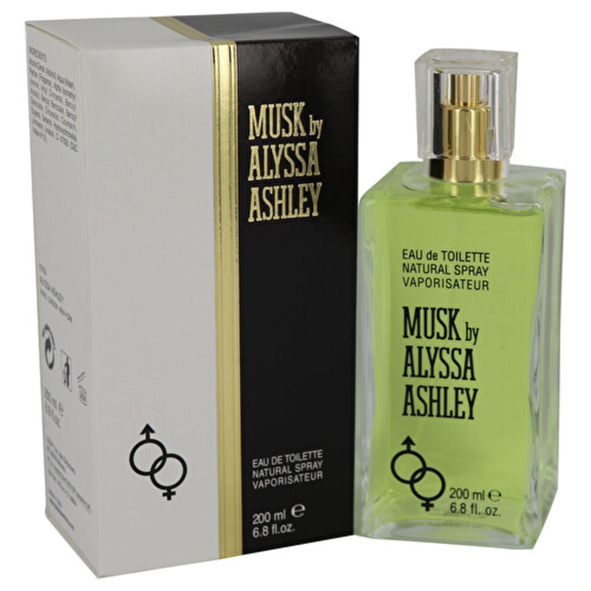 + VAT Brand New Alyssa Ashley Musk 200ml EDT Spray