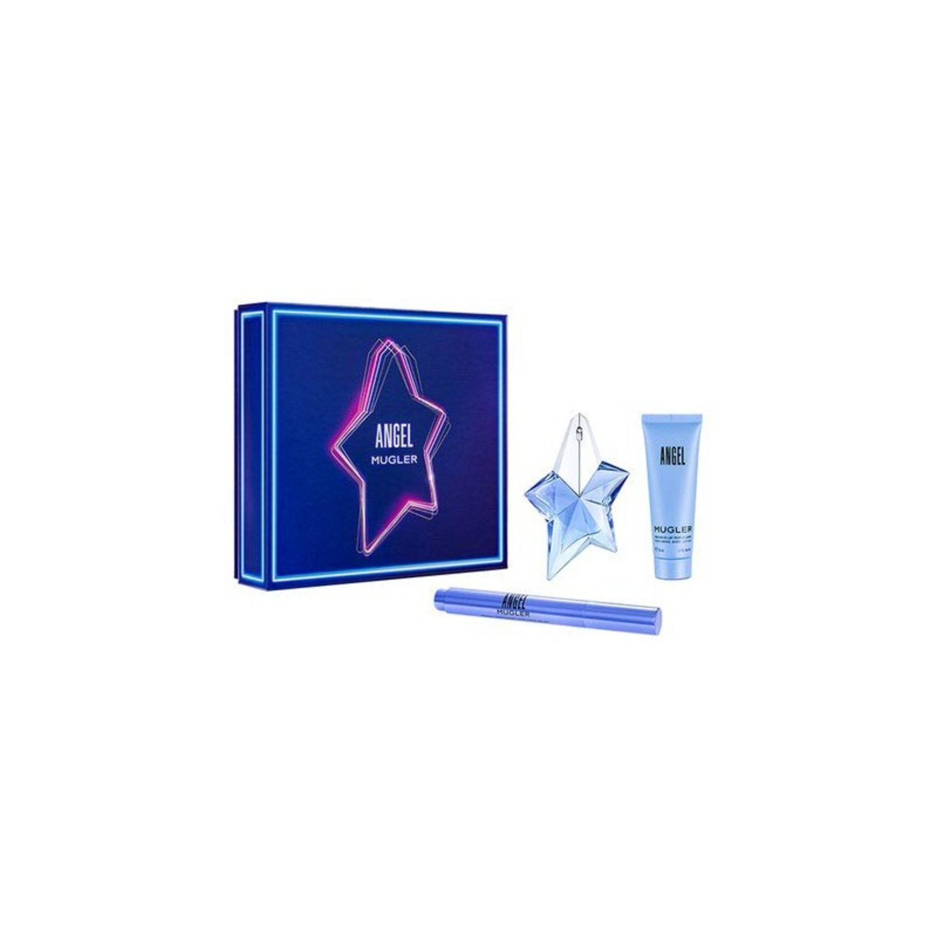+ VAT Brand New Thierry Mugler Angel 25ml+50ml B/L+Perfuming brush 7ml