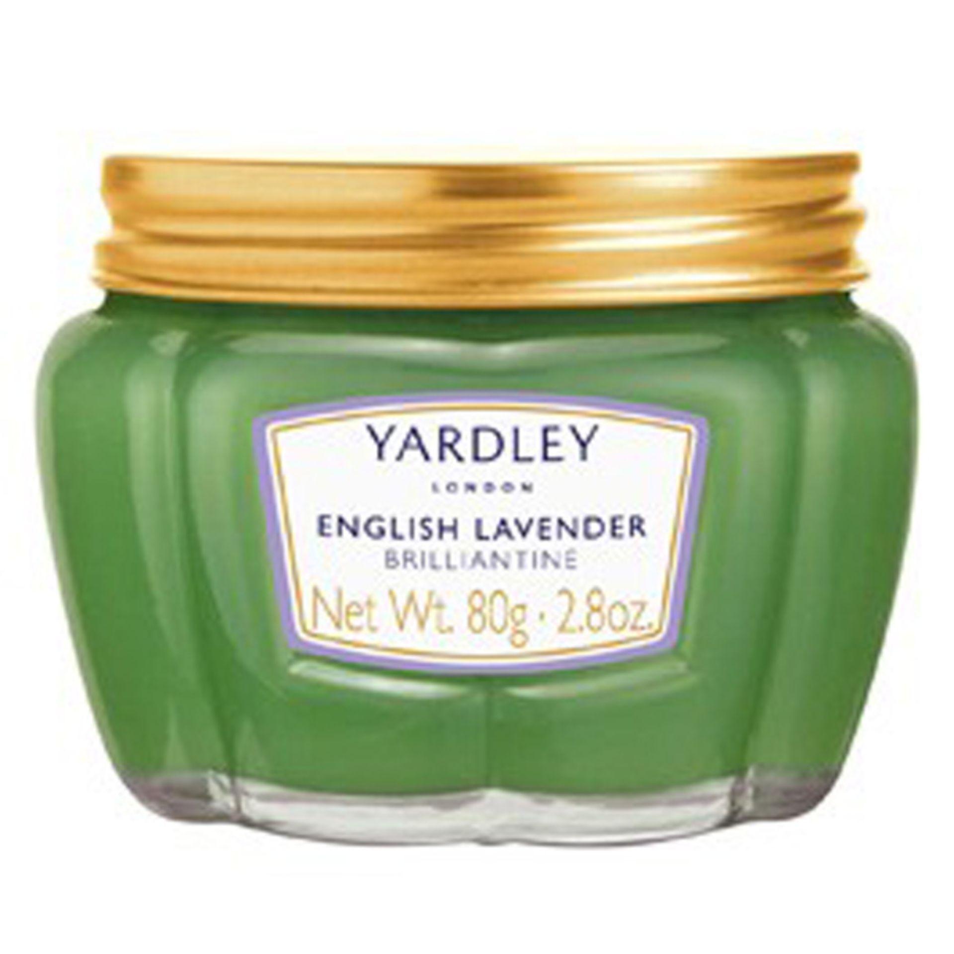+ VAT Brand New Yardley Green Brilliantine 80g