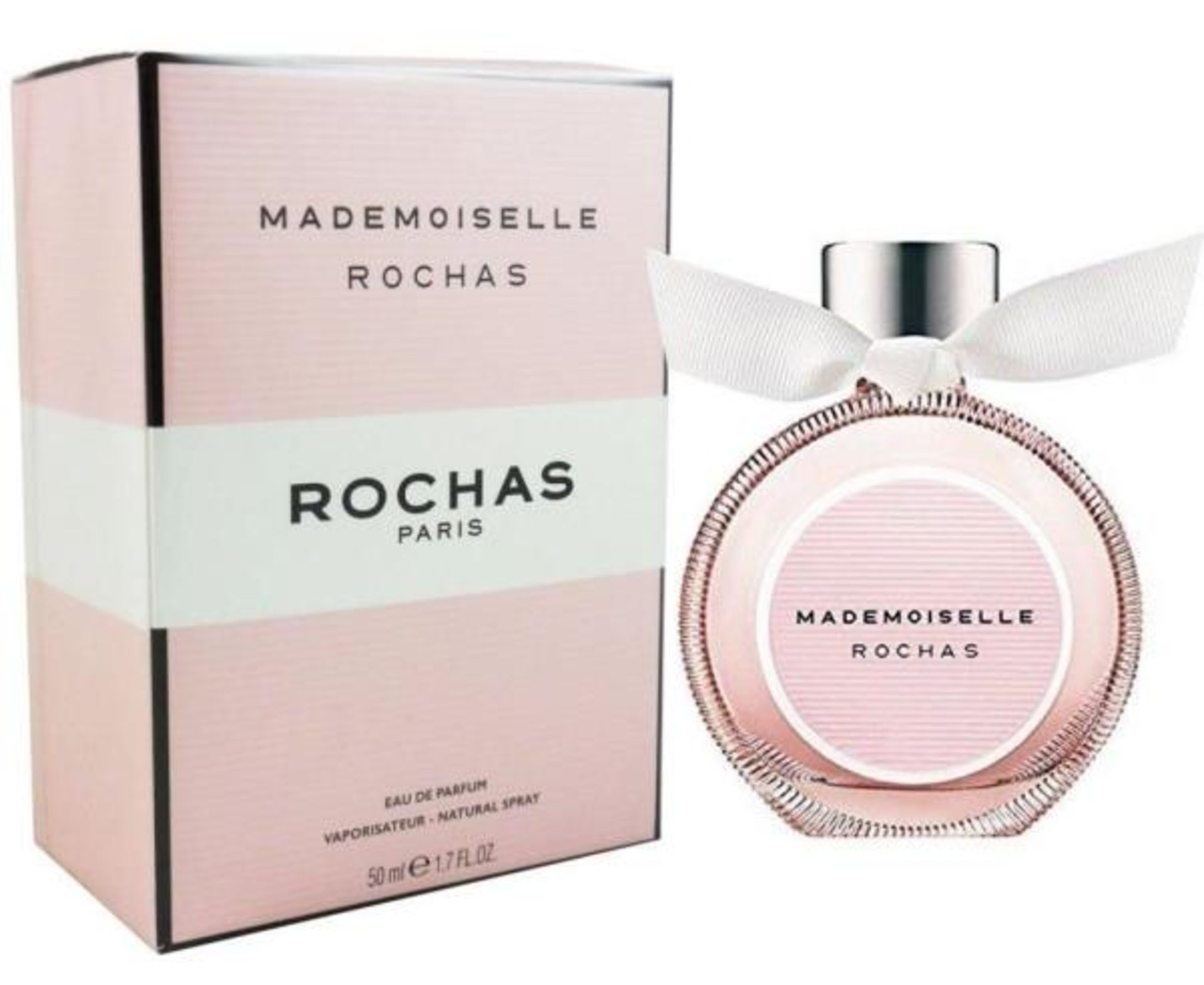 + VAT Brand New Rochas Mademoiselle 50ml EDP Spray