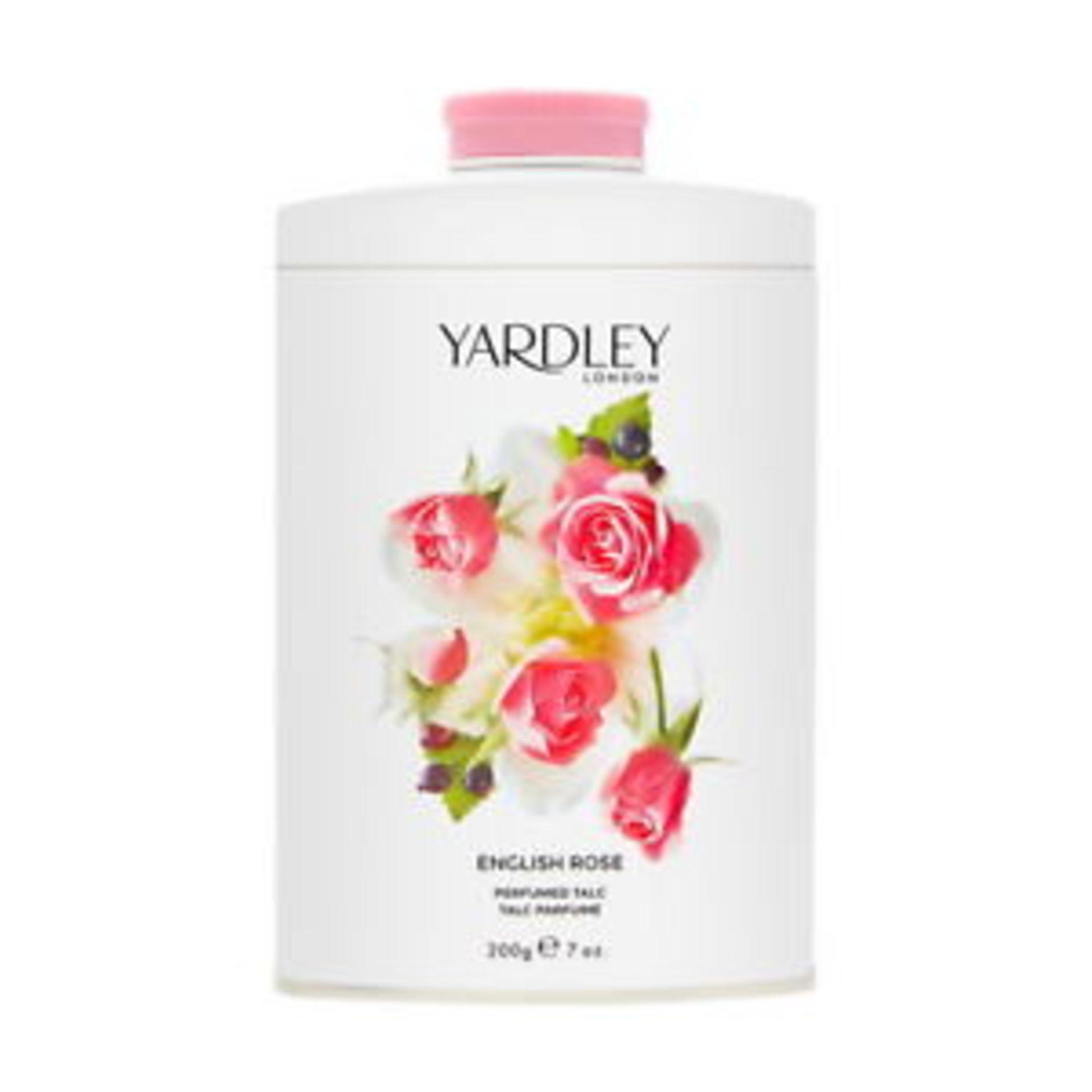 + VAT Brand New Yardley English Rose 200G Talc