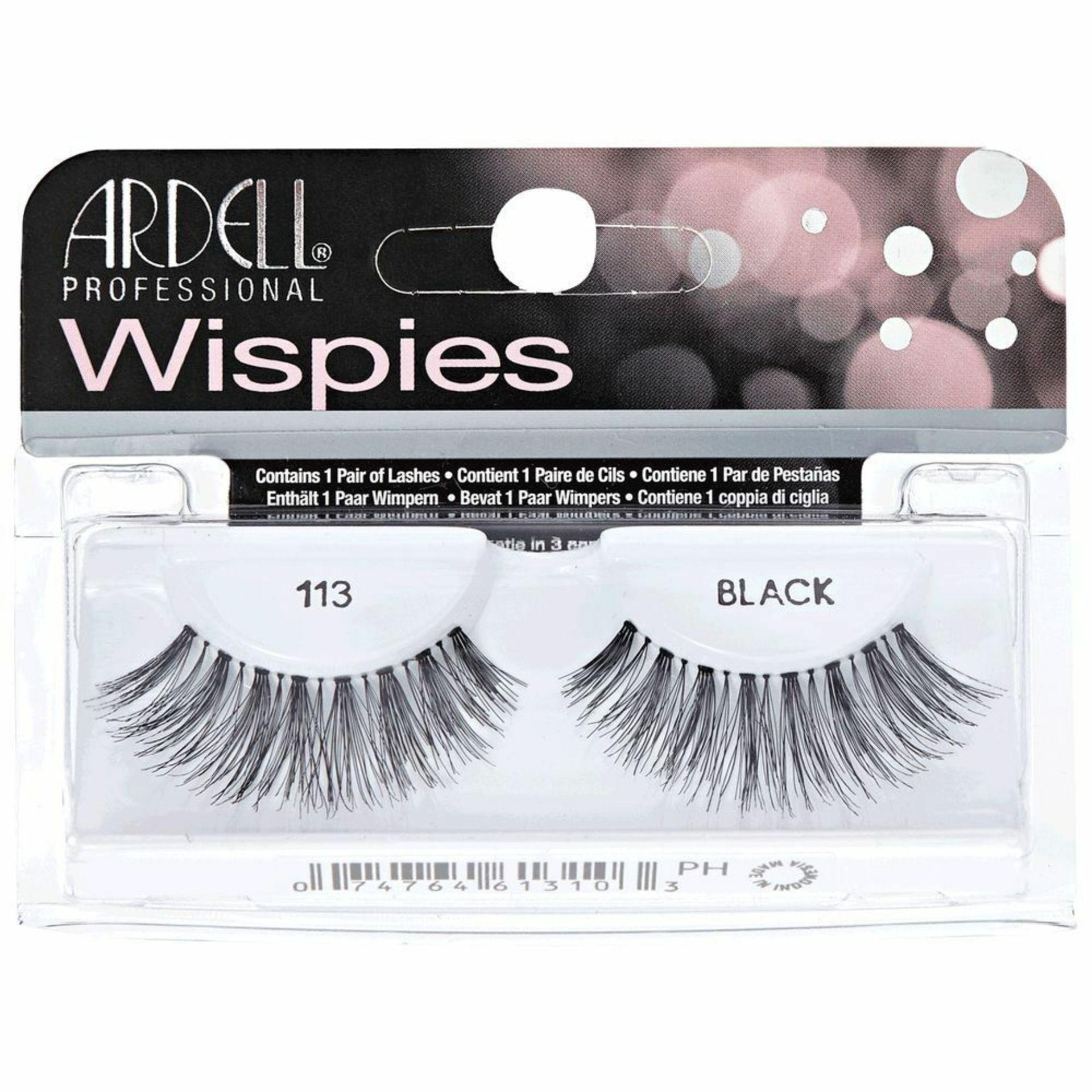 + VAT Brand New Ardell Wispies 113 Black