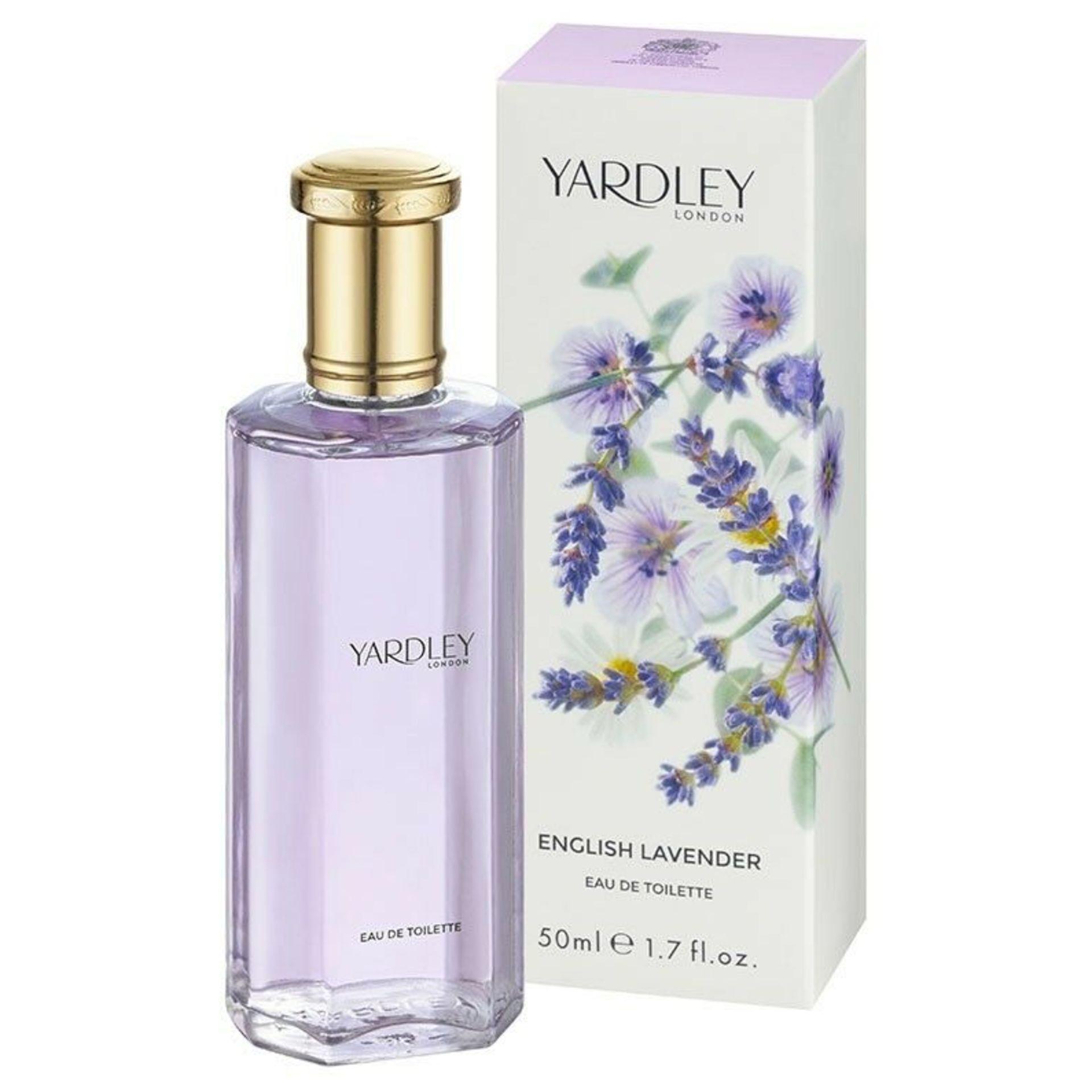 + VAT Brand New Yardley English Lavender 50ml EDT Spray