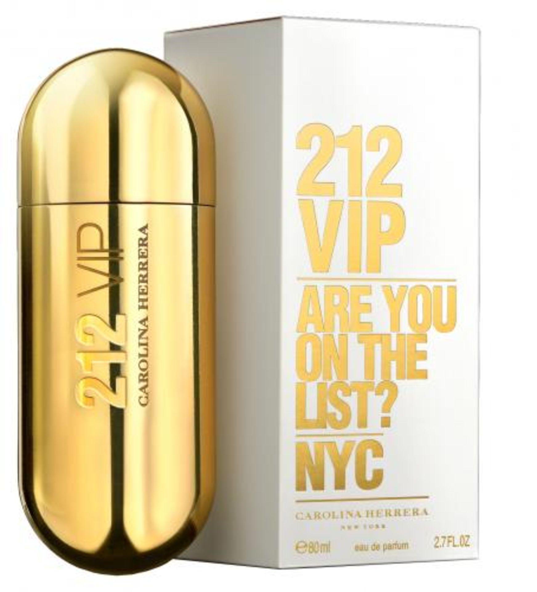 + VAT Brand New Carolina Herrera 212 V.I.P (L) 80ml EDP Spray