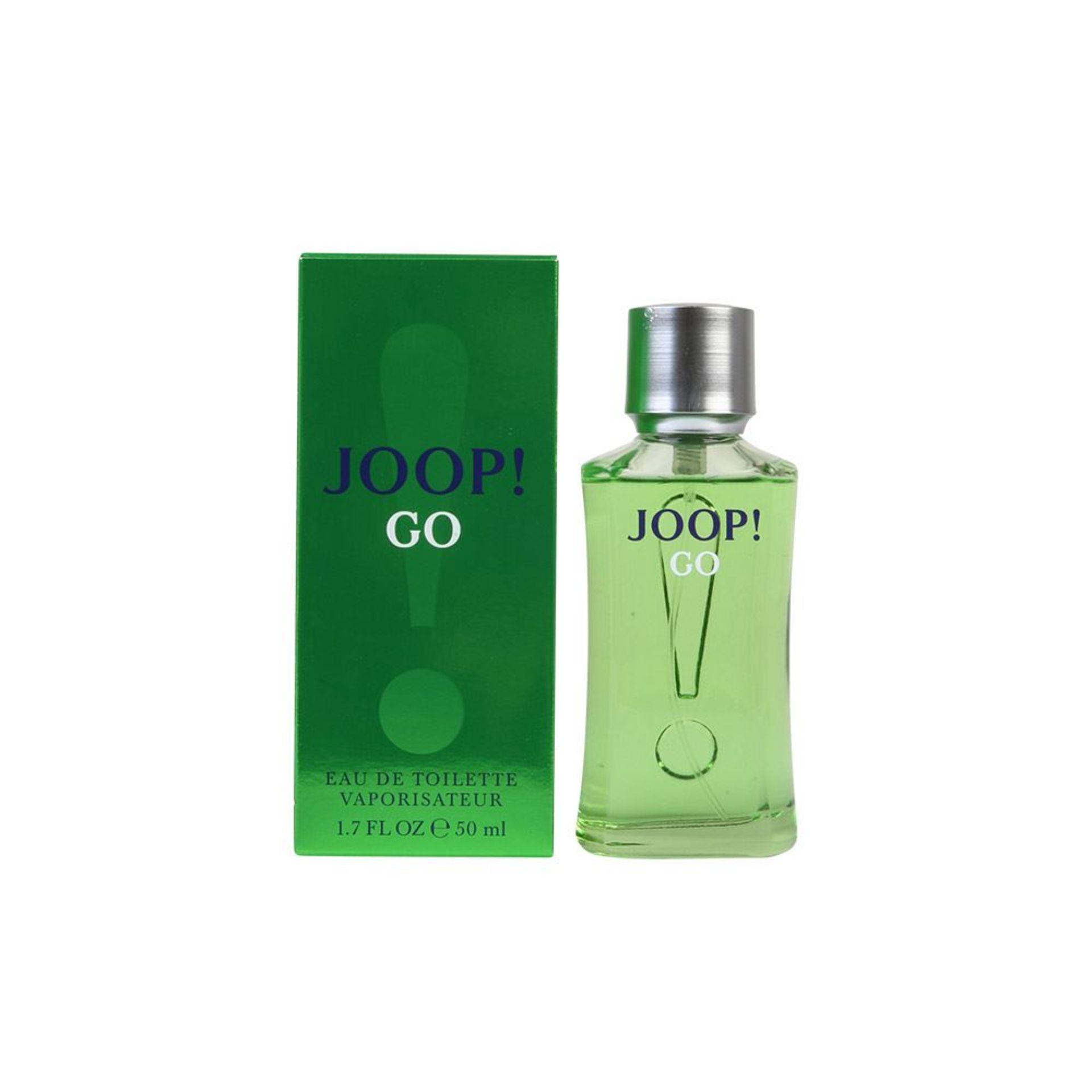 + VAT Brand New JOOP! Go 50ml EDT Spray