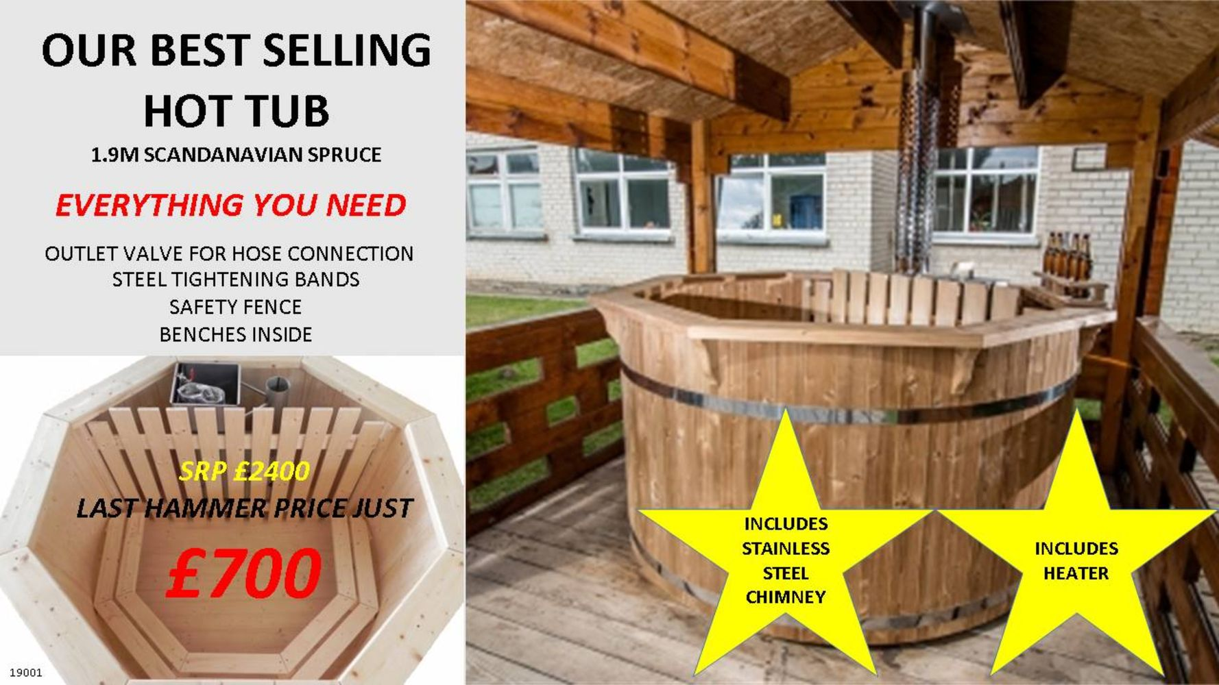 Scandinavian-Style Hot Tubs Plus a Range of Stylish Patio Heaters - Get Your Garden Summer-Ready