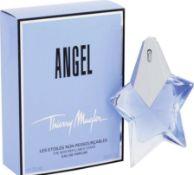 + VAT Brand New Thierry Mugler Angel 25ml EDP Spray Refillable