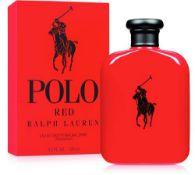 + VAT Brand New Ralph Lauren Polo Red (M) 125ml EDT Spray