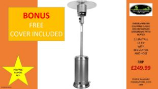 + VAT Brand New Chelsea Garden Company Garden Patio Heater With Cover - Item Is Available From